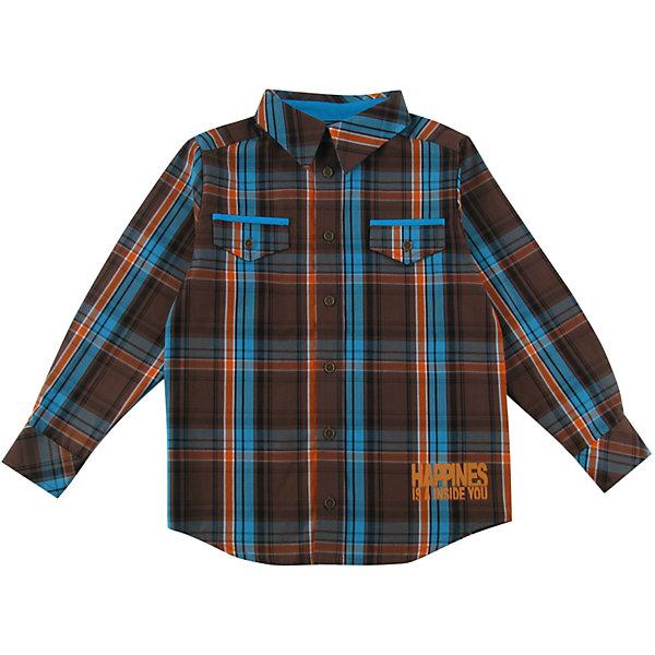 Рубашка для мальчика WojcikБлузки и рубашки<br>Характеристики товара:<br><br>• цвет: коричневый<br>• состав ткани: 100% хлопок<br>• сезон: демисезон<br>• длинные рукава<br>• застежка: пуговицы<br>• страна бренда: Польша<br>• страна изготовитель: Польша<br><br>Клетчатая рубашка с длинным рукавом для мальчика Войчик легко надевается благодаря пуговицам. Хлопковая рубашка для детей сделана из легкого дышащего материала. Бренд Wojcik - это польская детская одежда отличного качества по доступной цене. <br><br>Рубашку для мальчика Wojcik (Войчик) можно купить в нашем интернет-магазине.<br><br>Ширина мм: 174<br>Глубина мм: 10<br>Высота мм: 169<br>Вес г: 157<br>Цвет: белый<br>Возраст от месяцев: 96<br>Возраст до месяцев: 108<br>Пол: Мужской<br>Возраст: Детский<br>Размер: 134,92,98,104,110,116,122,128<br>SKU: 5592105