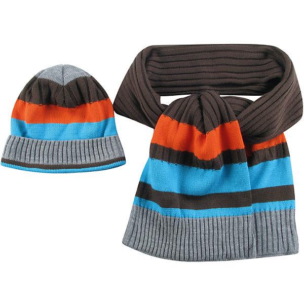 Комплект для мальчика WojcikГоловные уборы<br>Характеристики товара:<br><br>• цвет: голубой<br>• комплектация: шарф, шапка<br>• состав ткани: 100% акрил<br>• сезон: демисезон<br>• страна бренда: Польша<br>• страна изготовитель: Польша<br><br>Одежда для детей из Польши от бренда Wojcik отличается хорошим качеством и стилем. Такой комплект для мальчика Wojcik симпатично смотрится. Детские шарф и шапка удобно сидят и не колются. Такие шарф и шапка для детей - мягкие и удобные. <br><br>Комплект для мальчика Wojcik (Войчик) можно купить в нашем интернет-магазине.<br>Ширина мм: 190; Глубина мм: 74; Высота мм: 229; Вес г: 236; Цвет: белый; Возраст от месяцев: 18; Возраст до месяцев: 24; Пол: Мужской; Возраст: Детский; Размер: 110,104,98,92,134,128,122,116; SKU: 5592116;