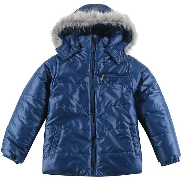 Куртка утепленная для мальчика WojcikВерхняя одежда<br>Характеристики товара:<br><br>• цвет: синий<br>• состав ткани: 100% полиэстер<br>• подкладка: 100% полиэстер<br>• утеплитель: 100% полиэстер<br>• сезон: демисезон<br>• температурный режим: от -5 до +15<br>• особенности модели: с капюшоном<br>• застежка: молния<br>• длинные рукава<br>• страна бренда: Польша<br>• страна изготовитель: Польша<br><br>Синяя куртка для мальчика от Войчик дополнена капюшоном с опушкой. Детская куртка удобно застегивается. Утепленная куртка для детей выполнена в модной красивой расцветке. Польская детская одежда для детей от бренда Wojcik - это качественные и стильные вещи. <br><br>Куртку утепленную для мальчика Wojcik (Войчик) можно купить в нашем интернет-магазине.<br>Ширина мм: 356; Глубина мм: 10; Высота мм: 245; Вес г: 519; Цвет: темно-синий; Возраст от месяцев: 84; Возраст до месяцев: 96; Пол: Мужской; Возраст: Детский; Размер: 128,158,134,140,146,152; SKU: 5592229;