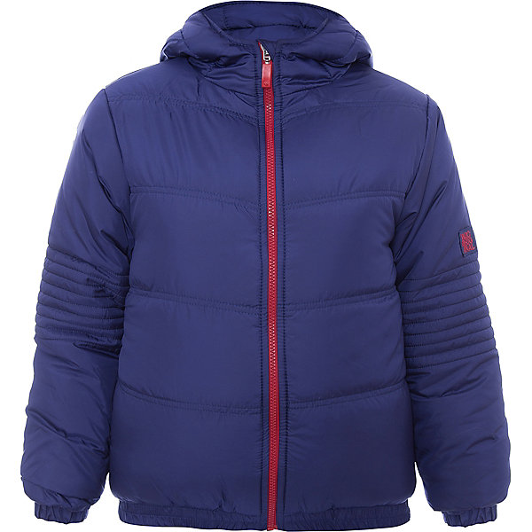 Куртка утепленная для мальчика WojcikВерхняя одежда<br>Характеристики товара:<br><br>• цвет: синий<br>• состав ткани: 100% полиэстер<br>• подкладка: 100% полиэстер<br>• утеплитель: 100% полиэстер<br>• сезон: демисезон<br>• температурный режим: от -5 до +15<br>• особенности модели: с капюшоном<br>• застежка: молния<br>• длинные рукава<br>• страна бренда: Польша<br>• страна изготовитель: Польша<br><br>Модная куртка для мальчика от Войчик дополнена удобным капюшоном. Детская куртка удобно застегивается. Утепленная куртка для детей выполнена в модной красивой расцветке. Польская детская одежда для детей от бренда Wojcik - это качественные и стильные вещи. <br><br>Куртку утепленную для мальчика Wojcik (Войчик) можно купить в нашем интернет-магазине.<br>Ширина мм: 356; Глубина мм: 10; Высота мм: 245; Вес г: 519; Цвет: темно-синий; Возраст от месяцев: 84; Возраст до месяцев: 96; Пол: Мужской; Возраст: Детский; Размер: 128,158,152,146,140,134; SKU: 5592280;