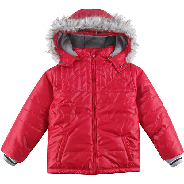 Куртка утепленная для мальчика WojcikВерхняя одежда<br>Характеристики товара:<br><br>• цвет: красный<br>• состав ткани: 100% полиэстер<br>• подкладка: 100% полиэстер<br>• утеплитель: 100% полиэстер<br>• сезон: демисезон<br>• температурный режим: от -5 до +15<br>• особенности модели: с капюшоном<br>• застежка: молния<br>• длинные рукава<br>• страна бренда: Польша<br>• страна изготовитель: Польша<br><br>Польская детская одежда для детей от бренда Wojcik - это качественные и стильные вещи. Красная куртка для мальчика от Войчик дополнена удобным капюшоном. Детская куртка удобно застегивается. Утепленная куртка для детей выполнена в модной красивой расцветке. <br><br>Куртку утепленную для мальчика Wojcik (Войчик) можно купить в нашем интернет-магазине.<br><br>Ширина мм: 356<br>Глубина мм: 10<br>Высота мм: 245<br>Вес г: 519<br>Цвет: бордовый<br>Возраст от месяцев: 84<br>Возраст до месяцев: 96<br>Пол: Мужской<br>Возраст: Детский<br>Размер: 128,158,152,146,140,134<br>SKU: 5592287