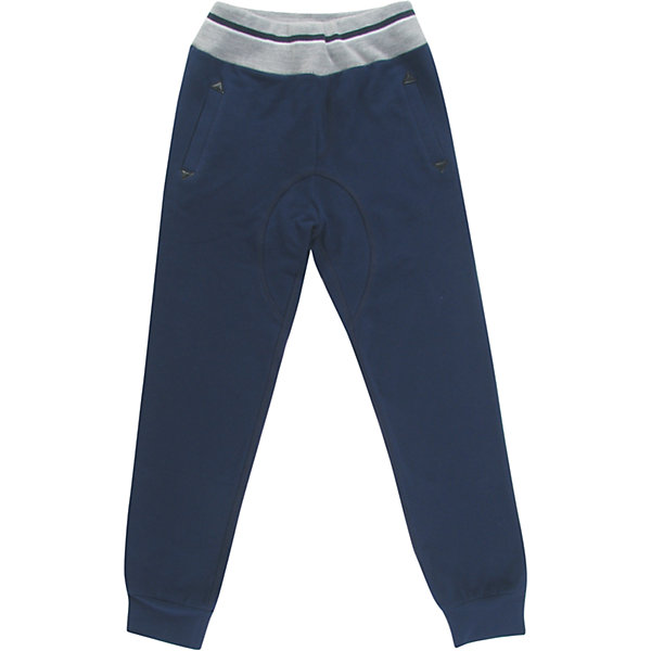 Спортивные штаны для мальчика WojcikБрюки<br>Характеристики товара:<br><br>• цвет: синий<br>• состав ткани: 97% хлопок, 3% эластан <br>• сезон: демисезон<br>• особенности модели: спортивный стиль<br>• пояс: резинка<br>• страна бренда: Польша<br>• страна изготовитель: Польша<br><br>Удобные спортивные штаны для мальчика Wojcik комфортно сидят по фигуре. Эти детские штаны дополнены манжетами. Спортивные штаны для детей - дышащие и комфортные. Одежда для детей из Польши от бренда Wojcik отличается хорошим качеством и стилем. <br><br>Спортивные штаны для мальчика Wojcik (Войчик) можно купить в нашем интернет-магазине.<br>Ширина мм: 215; Глубина мм: 88; Высота мм: 191; Вес г: 336; Цвет: темно-синий; Возраст от месяцев: 84; Возраст до месяцев: 96; Пол: Мужской; Возраст: Детский; Размер: 128,152,146,140,134,158; SKU: 5592294;