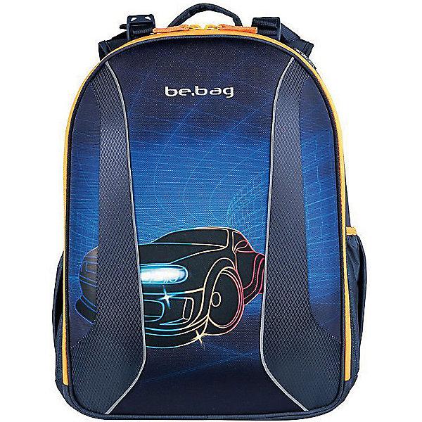 Рюкзак Herlitz  без напонения be.bag AIRGO Race Car, без наполненияРанцы<br>Рюкзак BE. BAG AIRGO Race Car<br>- размеры 43х32х18см<br>- прочный корпус из жесткого материала<br>- два больших внутренних отделения<br>- эргономичная спинка <br>- 3-уровневая система регулировки лямок Ergo System ES2 <br>- светоотражатели<br>- органайзер   внутри                                                                                                  -вмещает А4                                                                                                                  лямки  настраиваются  под  рост  ребенка                                                              -вес 900г                                                                                                            объем 18л<br><br>Ширина мм: 320<br>Глубина мм: 430<br>Высота мм: 180<br>Вес г: 950<br>Возраст от месяцев: 72<br>Возраст до месяцев: 144<br>Пол: Мужской<br>Возраст: Детский<br>SKU: 5595037