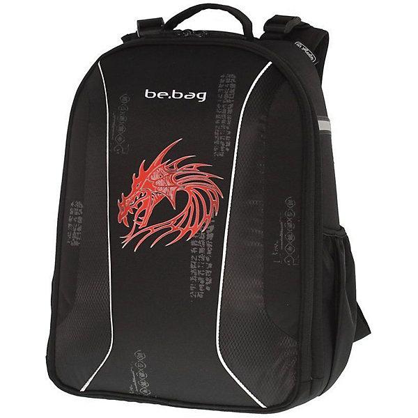 Рюкзак Herlitz  be.bag AIRGO Dragon без наполненияРанцы<br>Рюкзак BE.BAG AIRGO Dragon<br>- размеры 43х32х18см<br>- прочный корпус из жесткого материала<br>- два больших внутренних отделения<br>- эргономичная спинка <br>- 3-уровневая система регулировки лямок Ergo System ES2 <br>- светоотражатели<br>- органайзер   внутри                                                                                                  -вмещает А4                                                                                                                    лямки настраиваются  под  рост  ребенка                                                              -вес 900г                                                                                                            объем 18л<br><br>Ширина мм: 320<br>Глубина мм: 430<br>Высота мм: 180<br>Вес г: 950<br>Возраст от месяцев: 72<br>Возраст до месяцев: 144<br>Пол: Мужской<br>Возраст: Детский<br>SKU: 5595044