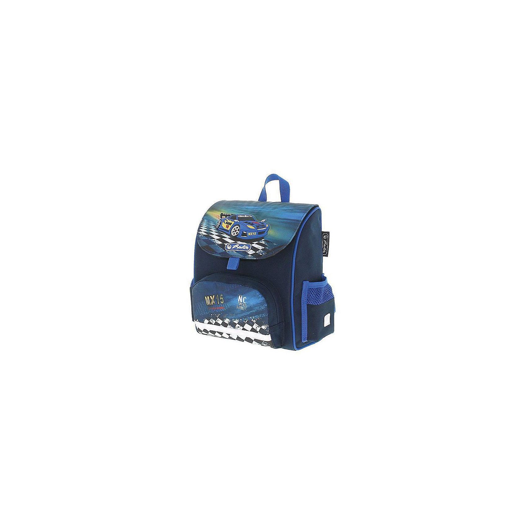 Herlitz Ранец дошкольный MINI SOFTBAG Super RaceРанцы<br>Ранец дошкольный MINI SOFTBAG Super Racer<br>Описание:<br>- 24х28х14 см,<br> - одно внутреннее отделение,<br> - 1 передний карман на молнии,<br>- 2 боковых кармана,<br> - эргономичная спинка, <br>- уплотненные регулируемые лямки, <br>- светоотражатели 3M на переднем кармане, боковых карманах и лямках<br>вес 280 гр.<br><br>Ширина мм: 32<br>Глубина мм: 34<br>Высота мм: 19<br>Вес г: 315<br>Возраст от месяцев: 36<br>Возраст до месяцев: 72<br>Пол: Мужской<br>Возраст: Детский<br>SKU: 5595070