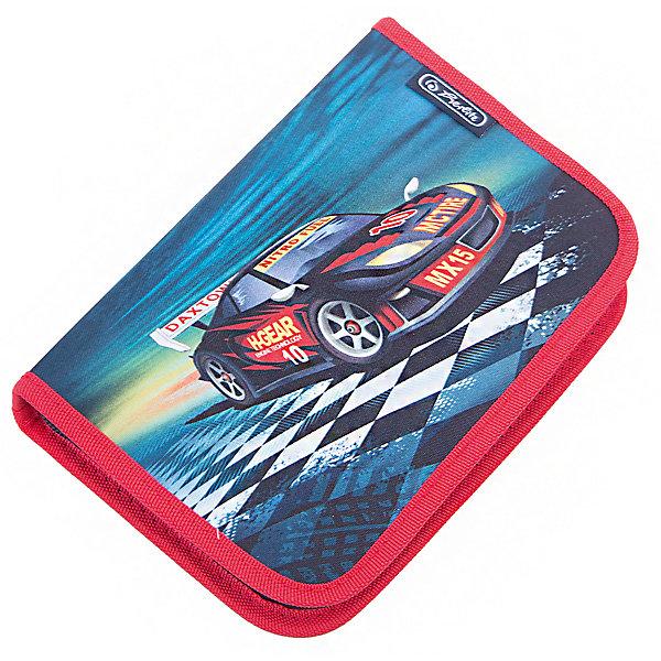 Herlitz Пенал с наполнением 31 предмет, Super RacerПеналы с наполнением<br>Пенал с наполнением Super Racer<br>31 предмет<br>Описание:<br>- 20,5х14х3,5<br>- 1 отделение, 2 откидные створки<br>- прочный кант, жесткая обложка<br>Наполнение:<br>- 1 шариковая ручка,<br>- 2 чернографитных карандаша,<br>- 8 цветных карандашей, 14 фломастеров<br>- линейка и угольник, ластик и точилка,<br>- расписание уроков на русском языке,<br>- личные данные ученика<br>Ширина мм: 140; Глубина мм: 205; Высота мм: 35; Вес г: 326; Возраст от месяцев: 72; Возраст до месяцев: 120; Пол: Мужской; Возраст: Детский; SKU: 5595079;