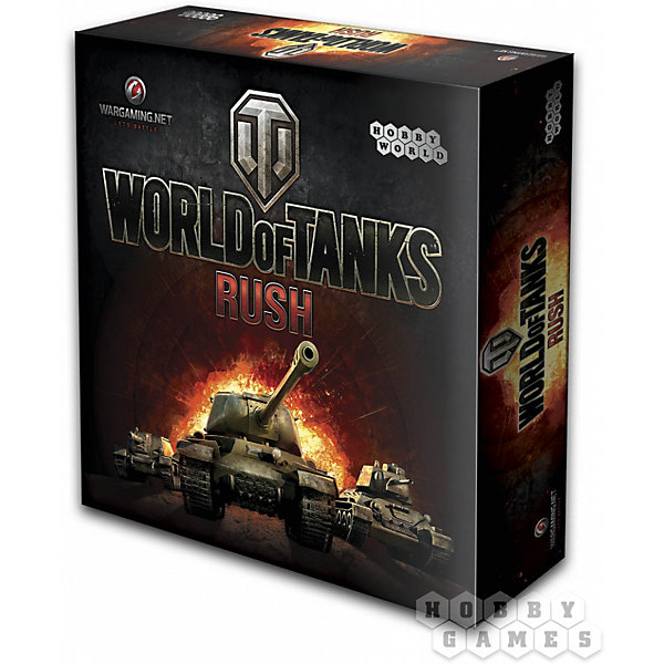 Игра настольная World of Tanks: Rush,  Hobby World