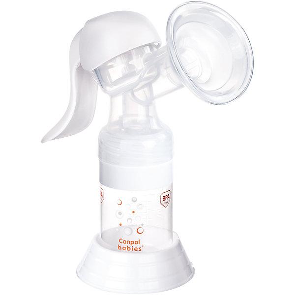 Молокоотсос ручной Basic, Canpol BabiesМолокоотсосы и аксессуары<br>Молокоотсос ручной Basic, Canpol Babies.<br><br>Характеристики:<br><br>• В комплекте: бутылочка для кормления 125 мл, корпус с массажной насадкой, адаптер для бутылочек с узким горлышком, соска силиконовая от 3 мес., уплотнительный диск для хранения молока в бутылочке, втулка для соединения корпуса и бутылочки, сумка для хранения молокоотсоса<br>• Материал: полипропилен, силикон, полиоксиметилен<br><br>Ручной молокоотсос Basic - гарантирует простоту и удобство процесса сцеживания молока. Благодаря небольшому количеству элементов его легко собирать и содержать в чистоте. Молокоотсос обладает эргономичной ручкой, что позволяет сцеживать молоко, не прилагая особых усилий. Силиконовая накладка обеспечивает идеальный контакт воронки с грудью и нежное стимулирование во время сцеживания. Комфортный сбор молока прямо в бутылочку для кормления позволит накормить ребенка в любой момент. Благодаря специальному адаптеру молокоотсос можно использовать со всеми видами бутылочек Canpol babies, как с узким, так и с широким горлышком. Ручной молокоотсос Basic выполнен из нетоксичных, долговечных и безопасных материалов.<br><br>Молокоотсос ручной Basic, Canpol Babies можно купить в нашем интернет-магазине.<br><br>Ширина мм: 200<br>Глубина мм: 90<br>Высота мм: 195<br>Вес г: 493<br>Возраст от месяцев: 0<br>Возраст до месяцев: 1188<br>Пол: Унисекс<br>Возраст: Детский<br>SKU: 5598825