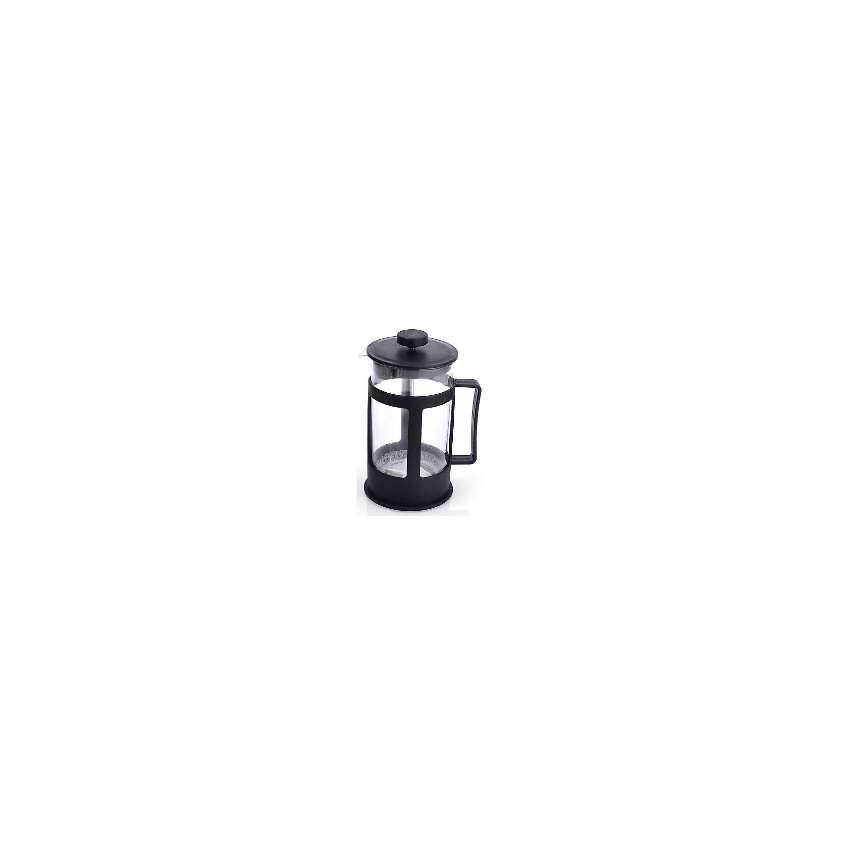 Кофейник стеклянный 600 мл, МФК-профит, черныйБытовая техника для кухни<br>Кофейник стеклянный 600 мл, МФК-профит, черный.<br><br>Характеристики:<br><br>• Объем: 600 мл.<br>• Цвет: черный<br>• Материал: стекло, пластик<br>• Размер упаковки: 11х10х18 см.<br>• Вес: 347 гр.<br><br>Кофейник для приготовления кофе, чая и настоев изготовлен из экологически чистых и безопасных материалов: корпус из высококачественного нетоксичного пластика, колба из термостойкого стекла (термостойкость до 100 ?С). Кофейник имеет удобную ручку. Не рекомендуется использовать в микроволновой печи.<br><br>Кофейник стеклянный 600 мл, МФК-профит, черный можно купить в нашем интернет-магазине.<br><br>Ширина мм: 110<br>Глубина мм: 100<br>Высота мм: 180<br>Вес г: 347<br>Возраст от месяцев: 36<br>Возраст до месяцев: 1188<br>Пол: Унисекс<br>Возраст: Детский<br>SKU: 5601145