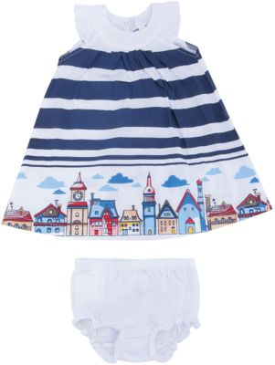 Комплект: платье и трусы для девочки PlayToday