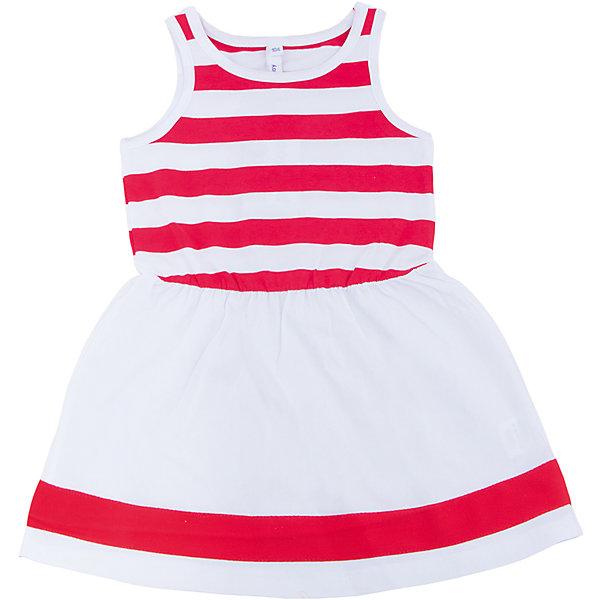 Платье для девочки PlayTodayПлатья и сарафаны<br>Характеристики товара:<br><br>• цвет: разноцветный<br>• состав: 95% хлопок, 5% эластан<br>• мягкая резинка в талии<br>• дышащий материал<br>• мягкая окантовка<br>• эластичный трикотаж<br>• без рукавов<br>• комфортная посадка<br>• коллекция: весна-лето 2017<br>• страна бренда: Германия<br>• страна производства: Китай<br><br>Популярный бренд PlayToday выпустил новую коллекцию! Вещи из неё продолжают радовать покупателей удобством, стильным дизайном и продуманным кроем. Дети носят их с удовольствием. <br>Такая стильная модель обеспечит ребенку комфорт благодаря качественному материалу и продуманному крою. В составе ткани - натуральный хлопок, который позволяет коже дышать и не вызывает аллергии. Такие вещи очень просты в уходе.<br>PlayToday - это линейка товаров, созданная специально для детей. Дизайнеры учитывают новые веяния моды и потребности детей. Порадуйте ребенка обновкой от проверенного производителя!<br><br>Платье для девочки от известного бренда PlayToday можно купить в нашем интернет-магазине.<br><br>Ширина мм: 236<br>Глубина мм: 16<br>Высота мм: 184<br>Вес г: 177<br>Цвет: оранжевый<br>Возраст от месяцев: 36<br>Возраст до месяцев: 48<br>Пол: Женский<br>Возраст: Детский<br>Размер: 104,122,98,116,110,128<br>SKU: 5603966