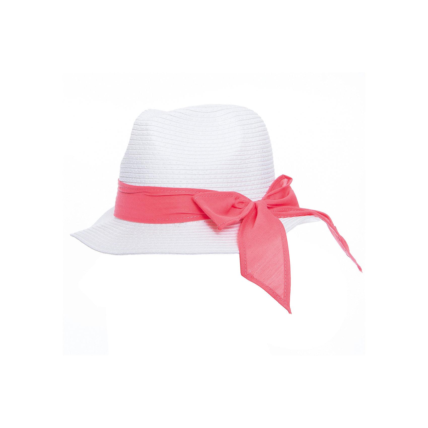 Панама для девочки PlayTodayГоловные уборы<br>Эффектная шляпа из бумажной соломки прекрасно подойдет для прогулок в жаркую погоду. Декорирована широкой лентой и бантом. Комфортна при носке.<br>Состав:<br>100% бумажная соломка<br><br>Ширина мм: 89<br>Глубина мм: 117<br>Высота мм: 44<br>Вес г: 155<br>Цвет: розовый<br>Возраст от месяцев: 24<br>Возраст до месяцев: 36<br>Пол: Женский<br>Возраст: Детский<br>Размер: 50,52,54<br>SKU: 5603984