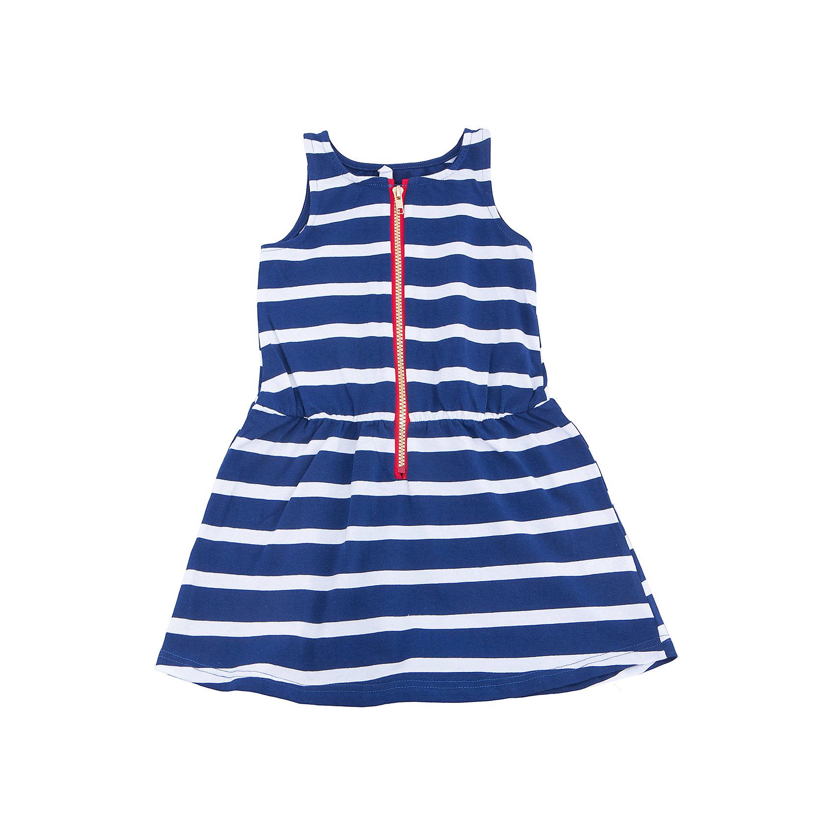 Платье для девочки PlayTodayПлатья и сарафаны<br>Характеристики товара:<br><br>• цвет: разноцветный<br>• состав: 95% хлопок, 5% эластан<br>• молния<br>• дышащий материал<br>• мягкая окантовка<br>• эластичный трикотаж<br>• без рукавов<br>• комфортная посадка<br>• коллекция: весна-лето 2017<br>• страна бренда: Германия<br>• страна производства: Китай<br><br>Популярный бренд PlayToday выпустил новую коллекцию! Вещи из неё продолжают радовать покупателей удобством, стильным дизайном и продуманным кроем. Дети носят их с удовольствием. <br>Такая стильная модель обеспечит ребенку комфорт благодаря качественному материалу и продуманному крою. В составе ткани - натуральный хлопок, который позволяет коже дышать и не вызывает аллергии. Такие вещи очень просты в уходе.<br>PlayToday - это линейка товаров, созданная специально для детей. Дизайнеры учитывают новые веяния моды и потребности детей. Порадуйте ребенка обновкой от проверенного производителя!<br><br>Платье для девочки от известного бренда PlayToday можно купить в нашем интернет-магазине.<br><br>Ширина мм: 236<br>Глубина мм: 16<br>Высота мм: 184<br>Вес г: 177<br>Цвет: белый<br>Возраст от месяцев: 24<br>Возраст до месяцев: 36<br>Пол: Женский<br>Возраст: Детский<br>Размер: 98,116,110,122,128,104<br>SKU: 5604073