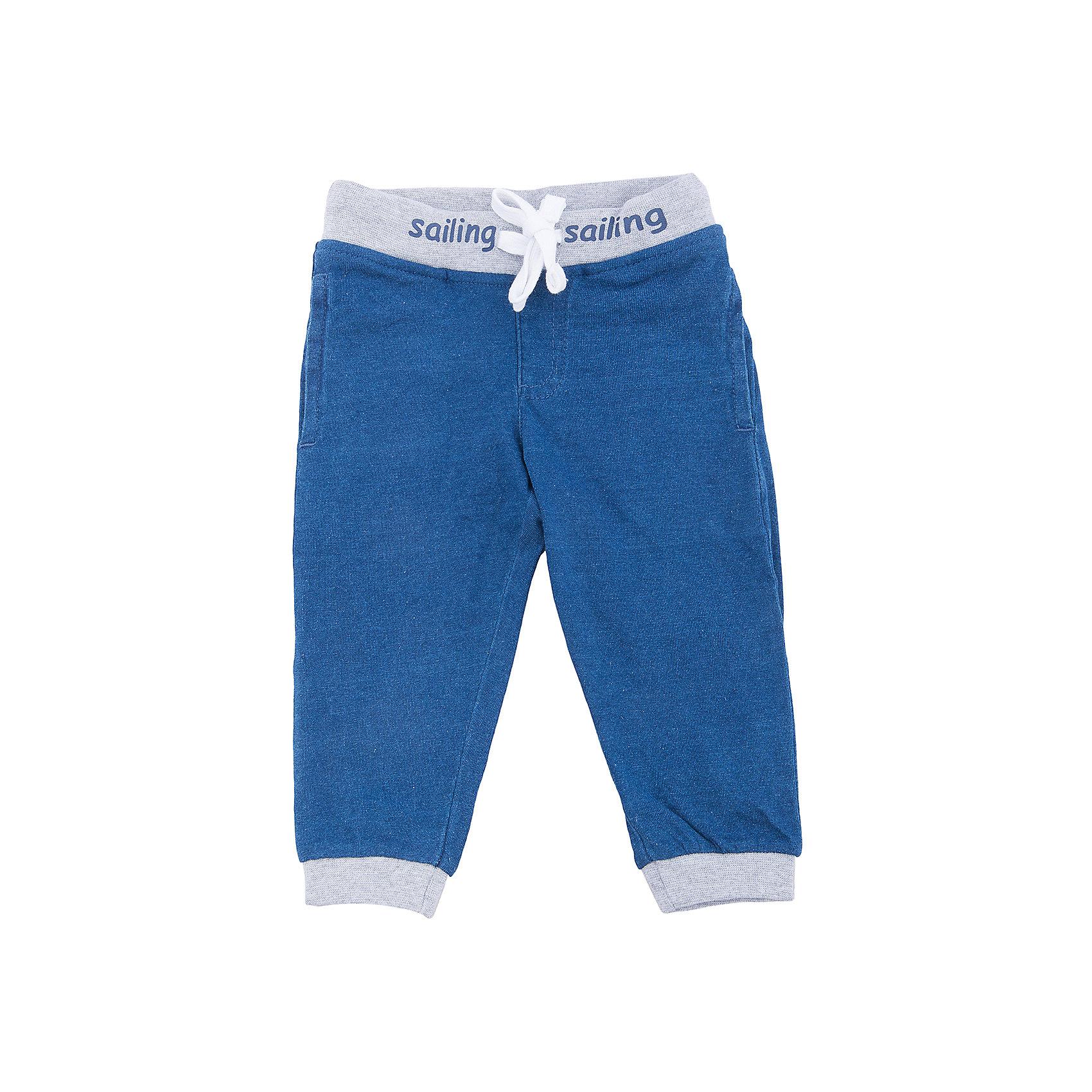 Брюки для мальчика PlayTodayДжинсы и брючки<br>Брюки из натуральной хлопковой ткани подойдут и для домашнего использования, и для прогулок. Модель на поясе на широкой резинке, дополнена регулируемым шнуром - кулиской контрастного цвета. Низ штанин на мягких резинках.Преимущества: Свободный крой не сковывает движений ребенкаНатуральный материал приятен к телу и не вызывает раздражений.<br>Состав:<br>95% хлопок, 5% эластан<br><br>Ширина мм: 215<br>Глубина мм: 88<br>Высота мм: 191<br>Вес г: 336<br>Цвет: разноцветный<br>Возраст от месяцев: 18<br>Возраст до месяцев: 24<br>Пол: Мужской<br>Возраст: Детский<br>Размер: 92,86,80,74<br>SKU: 5604577