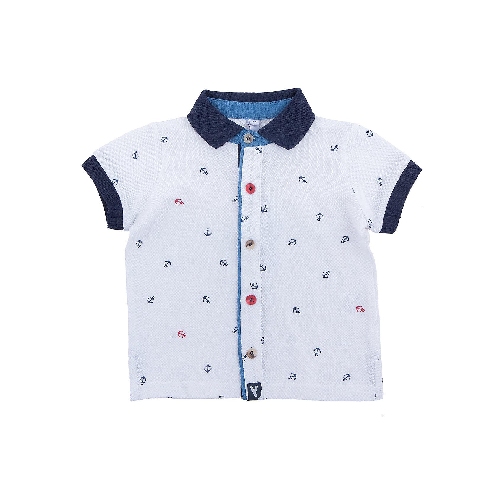 Рубашка для мальчика PlayTodayФутболки, поло и топы<br>Эффектная  сорочка с коротким рукавом сможет быть одной из базовых вещей детского гардероба.  Практичная и очень удобная для повседневной носки. Ткань  мягкая и приятная на ощупь, не раздражает нежную детскую кожу. Стиль отвечает всем последним тенденциям детской моды.  Рубашка с отложным воротничком, рукава декорированы мягкими резинками. Даже в самой активной игре Ваш ребенок будет всегда иметь аккуратный вид.Преимущества: Натуральная ткань не раздражает нежную кожу ребенкаМодель с отложным воротником.<br>Состав:<br>100% хлопок<br><br>Ширина мм: 174<br>Глубина мм: 10<br>Высота мм: 169<br>Вес г: 157<br>Цвет: белый<br>Возраст от месяцев: 12<br>Возраст до месяцев: 18<br>Пол: Мужской<br>Возраст: Детский<br>Размер: 86,74,92,80<br>SKU: 5604590