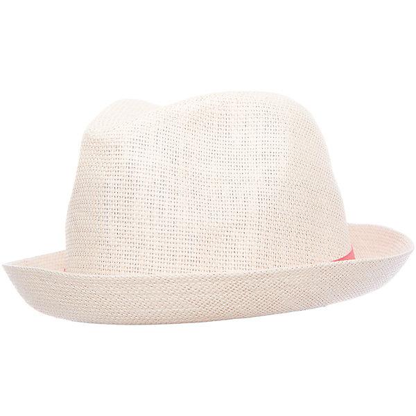 Шляпа для девочки ScoolГоловные уборы<br>Характеристики товара:<br><br>• цвет: розовый<br>• состав: 100% бумажная соломка<br>• декорирована широкой лентой<br>• дышащий материал<br>• легкая<br>• хорошо защищает от солнца<br>• комфортная посадка<br>• коллекция: весна-лето 2017<br>• страна бренда: Германия<br>• страна производства: Китай<br><br>Популярный бренд Scool выпустил новую коллекцию! Вещи из неё продолжают радовать покупателей удобством, стильным дизайном и продуманным кроем. Дети носят их с удовольствием. <br>Такая стильная модель обеспечит ребенку комфорт благодаря качественному материалу и продуманному крою. <br>Scool - это линейка товаров, созданная специально для детей. Дизайнеры учитывают новые веяния моды и потребности детей. Порадуйте ребенка обновкой от проверенного производителя!<br><br>Шляпу для девочки от известного бренда Scool можно купить в нашем интернет-магазине.<br>Ширина мм: 89; Глубина мм: 117; Высота мм: 44; Вес г: 155; Цвет: розовый; Возраст от месяцев: 72; Возраст до месяцев: 84; Пол: Женский; Возраст: Детский; Размер: 54,56; SKU: 5604618;