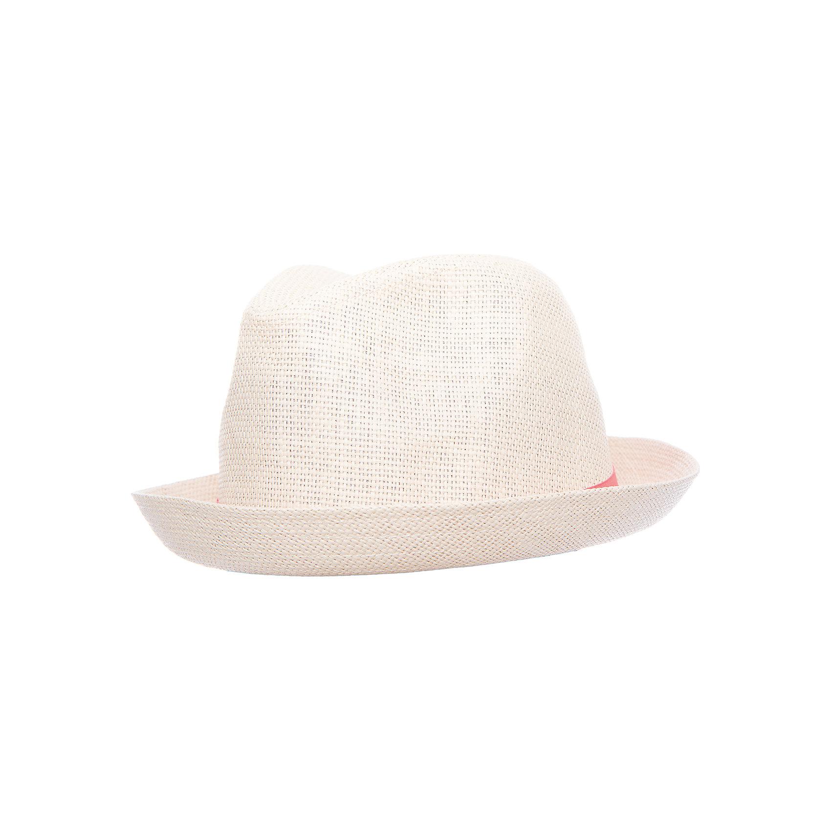 Шляпа для девочки ScoolГоловные уборы<br>Эффектная шляпа из бумажной соломки прекрасно подойдет для прогулок в жаркую погоду. Декорирована широкой лентой с эффектным цветком.<br>Состав:<br>100% бумажная соломка<br><br>Ширина мм: 89<br>Глубина мм: 117<br>Высота мм: 44<br>Вес г: 155<br>Цвет: розовый<br>Возраст от месяцев: 72<br>Возраст до месяцев: 84<br>Пол: Женский<br>Возраст: Детский<br>Размер: 54,56<br>SKU: 5604618