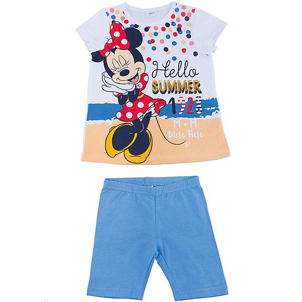 Комплект: футболка и шорты для девочки PlayTodayКомплекты<br>Характеристики товара:<br><br>• цвет: разноцветный<br>• состав: 95% хлопок, 5% эластан<br>• комплектация: футболка и шорты<br>• дышащий материал<br>• принт<br>• мягкая резинка на талии<br>• комфортная посадка<br>• коллекция: весна-лето 2017<br>• страна бренда: Германия<br>• страна производства: Китай<br><br>Популярный бренд PlayToday выпустил новую коллекцию! Вещи из неё продолжают радовать покупателей удобством, стильным дизайном и продуманным кроем. Дети носят их с удовольствием. <br>Такая стильная модель обеспечит ребенку комфорт благодаря качественному материалу и продуманному крою. В составе ткани - натуральный хлопок, который позволяет коже дышать и не вызывает аллергии. Такие вещи очень просты в уходе.<br>PlayToday - это линейка товаров, созданная специально для детей. Дизайнеры учитывают новые веяния моды и потребности детей. Порадуйте ребенка обновкой от проверенного производителя!<br><br>Комплект: футболка и шорты для девочки от известного бренда PlayToday можно купить в нашем интернет-магазине.<br>Ширина мм: 191; Глубина мм: 10; Высота мм: 175; Вес г: 273; Цвет: белый; Возраст от месяцев: 36; Возраст до месяцев: 48; Пол: Женский; Возраст: Детский; Размер: 104,98,128,116,110,122; SKU: 5604631;