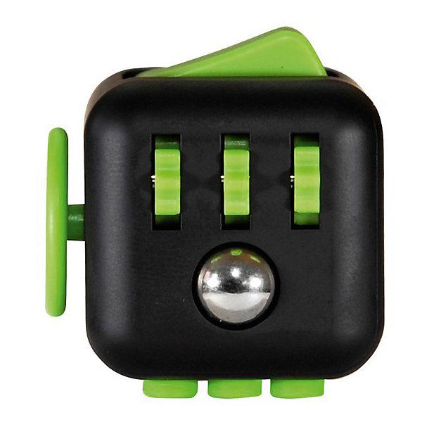Игрушка-антистресс Кикстартер, Fidget CubeИгрушки-антистресс<br>Характеристики:<br><br>• материал: пластик, металл, резина;<br>• каждая сторона имитирует разные механизмы и действия; <br>• размер кубика: 3,3х3,3х3,3 см;<br>• вес: 60 г;<br>• размеры упаковки: 6х6х6 см;<br>• особенности ухода: сухая чистка;<br>• упаковка: подарочная картонная коробочка.<br><br>Игрушка-антистресс Кикстартер, Fidget Cube (Фиджет Куб) – это игрушка, предназначенная для снятия стресса и релаксации. Выполнена в виде миниатюрного куба с шестью гранями, каждая из которых оснащена различными приспособлениями.<br><br>Приспособления подобраны с учетом наиболее распространенных действий, которые совершает человек, находясь в стрессе. Фиджет Куб оснащен выключателем, вращающимся диском, кнопками со звуком и бесшумными, кликером и др.<br><br>Игрушка выполнена из экологически безопасного и прочного пластика. Отдельные элементы изготовлены из резины.<br><br>Для ребенка этот кубик может использоваться в качестве обучающего средства для овладения навыками переключения и вращения, что будет способствовать развитию мелкой моторики рук. <br><br>Игрушку-антистресс Кикстартер, Fidget Cube можно купить в нашем интернет-магазине.<br><br>Ширина мм: 60<br>Глубина мм: 55<br>Высота мм: 55<br>Вес г: 60<br>Возраст от месяцев: 36<br>Возраст до месяцев: 2147483647<br>Пол: Унисекс<br>Возраст: Детский<br>SKU: 5607087