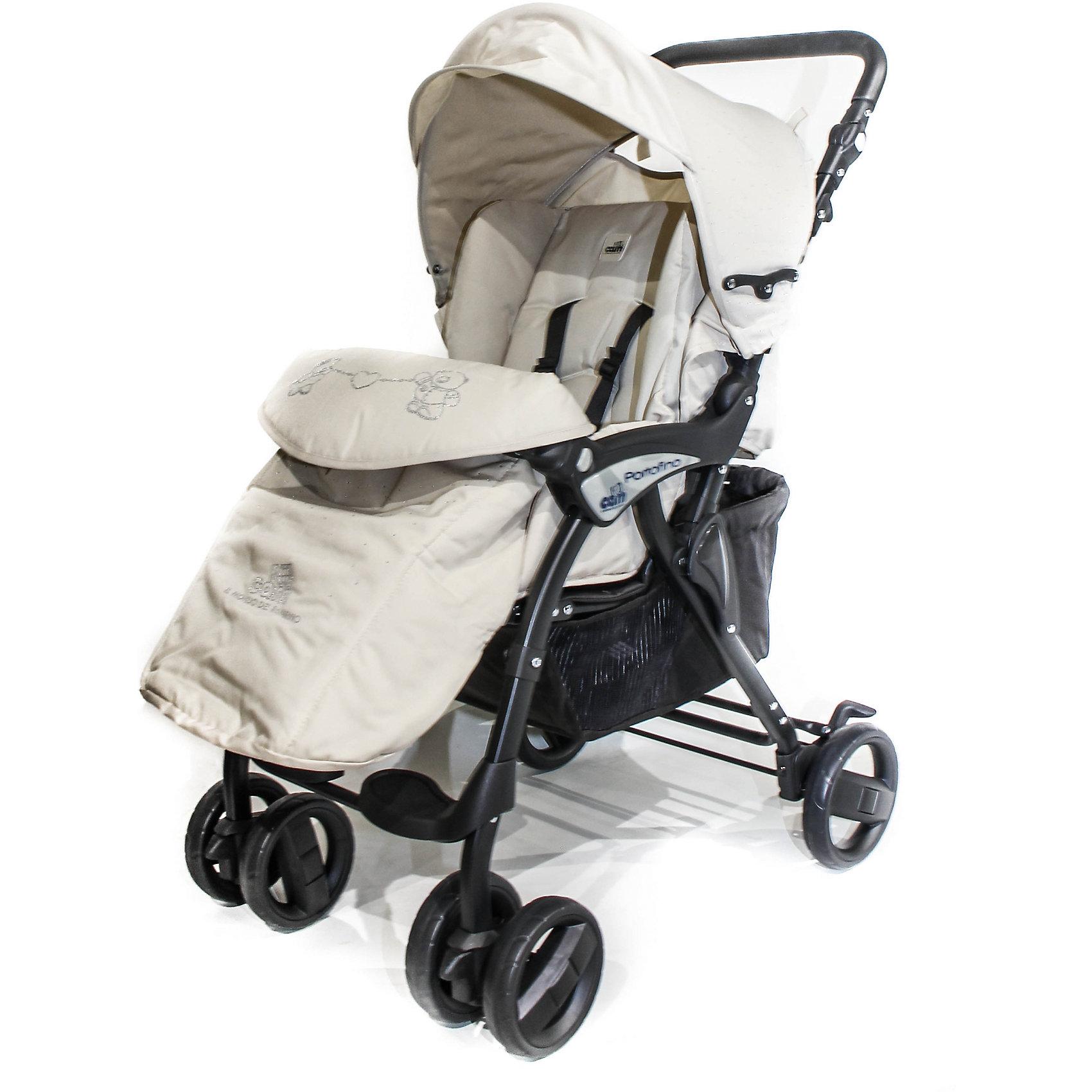 Прогулочная коляска CAM Portofino Ex с кристаллами, кремовыйПрогулочные коляски<br>Характеристики прогулочной коляски <br><br>Прогулочный блок: <br><br>• 4 положения спинки, включая горизонтальное, угол наклона 160 градусов;<br>• регулируемая подножка;<br>• дополнительная пластиковая подножка для подросшего ребенка;<br>• глубокий капюшон с солнцезащитным козырьком и смотровым окошком;<br>• бампер отводится в сторону;<br>• встроенные 5-ти точечные ремни безопасности;<br>• съемные чехлы можно снять и постирать при температуре 30 градусов.<br><br>Шасси коляски:<br><br>• регулируемая по высоте ручка коляски;<br>• компактно складывается книжкой;<br>• есть ручка для переноски коляски в сложенном виде;<br>• автоматическая блокировка в сложенном виде;<br>• устойчивое вертикальное положение в сложенном состоянии коляски;<br>• передние поворотные колеса с блокировкой;<br>• ножной тормоз – блокирует сразу оба задних колеса;<br>• амортизация;<br>• глубокая корзина для покупок;<br>• материал: алюминий, пластик, полиэстер.<br><br>Дополнительные аксессуары, входящие в комплект:<br><br>• чехол на ножки;<br>• дождевик;<br>• инструкция.<br><br>Размер коляски: 80x49x100 см<br>Размер коляски в сложенном виде: 50x39x83 см<br>Вес коляски: 7,6 кг<br>Размер упаковки: 74,5х43,2х21 см<br>Вес в упаковке: 8,5 кг<br><br>Прогулочную коляску Portofino Ex с кристаллами, CAM, цвет кремовый можно купить в нашем интернет-магазине.<br><br>Ширина мм: 743<br>Глубина мм: 432<br>Высота мм: 210<br>Вес г: 8500<br>Возраст от месяцев: 0<br>Возраст до месяцев: 36<br>Пол: Унисекс<br>Возраст: Детский<br>SKU: 5607561