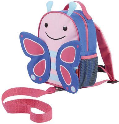 Рюкзак Детский С Поводком Бабочка , Skip Hop