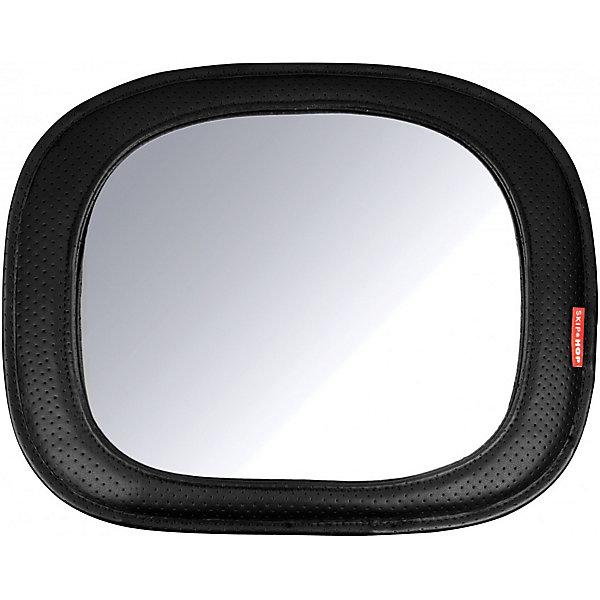 Автомобильное зеркало для наблюдения за ребенком, Skip HopАксессуары для автокресел<br>Характеристики товара:<br><br>- мягкая рамка с модной отделкой из искусственной кожи<br>- легкая регулировка<br>- небьющееся зеркало<br>- выпуклый широкий угол для удобного просмотра<br>- позволяет ребенку видеть свое отражение<br>- подходит для большинства подголовников автомобиля<br><br>Автомобильное зеркало для ребенка Skip Hop (Скип Хоп) Tonal Chevron - специально создано для непрерывного контроля за малышом, который сидит в автомобиле спиной по ходу движения.<br><br>Это элегантное зеркало для детского автомобиля демонстрирует широкий угол зрения малышу. Зеркало крепится рядом с ребенком и дает родителям отличный обзор с помощью зеркала заднего вида. Вы больше не будете переживать и  постоянно оглядыватся на кроху во время поездки, ведь зеркало позволит с легкостью увидеть как себя чувствует ребенок и чем он занят в данную минуту.<br><br>Автомобильное зеркало для наблюдения за ребенком, Skip Hop, можно купить в нашем интернет-магазине<br>Ширина мм: 320; Глубина мм: 60; Высота мм: 260; Вес г: 420; Возраст от месяцев: 60; Возраст до месяцев: 84; Пол: Унисекс; Возраст: Детский; SKU: 5608260;