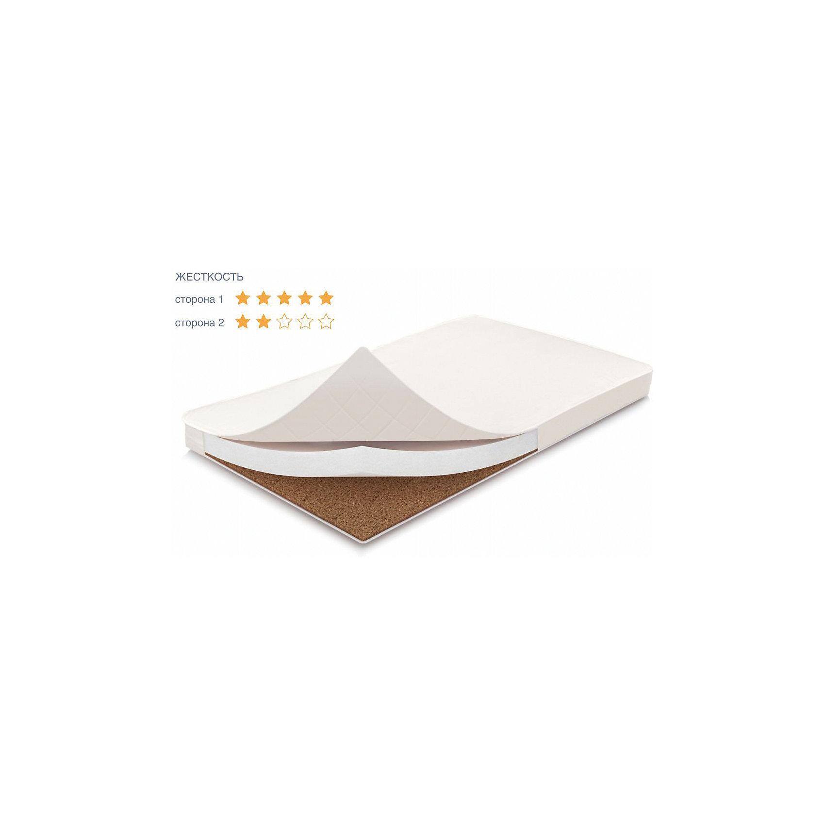 Матрас Волшебные сны Классик Плюс 119х59х10,кокос,бязь, ФеяМатрасы<br>Верхний слой- латексированная кокосовая плита (койра) толщиной 1 см.(для использования новорожденным)<br>Нижний слой -струттофайбер, объемный гипоаллергенный материал из полиэфирных волокон, толщиной 8 см..<br>Съемный чехол из 100 % хлопка на молнии с 3 сторон облегчает уход за изделием<br><br>Ширина мм: 1190<br>Глубина мм: 590<br>Высота мм: 100<br>Вес г: 2030<br>Возраст от месяцев: 0<br>Возраст до месяцев: 36<br>Пол: Унисекс<br>Возраст: Детский<br>SKU: 5610152