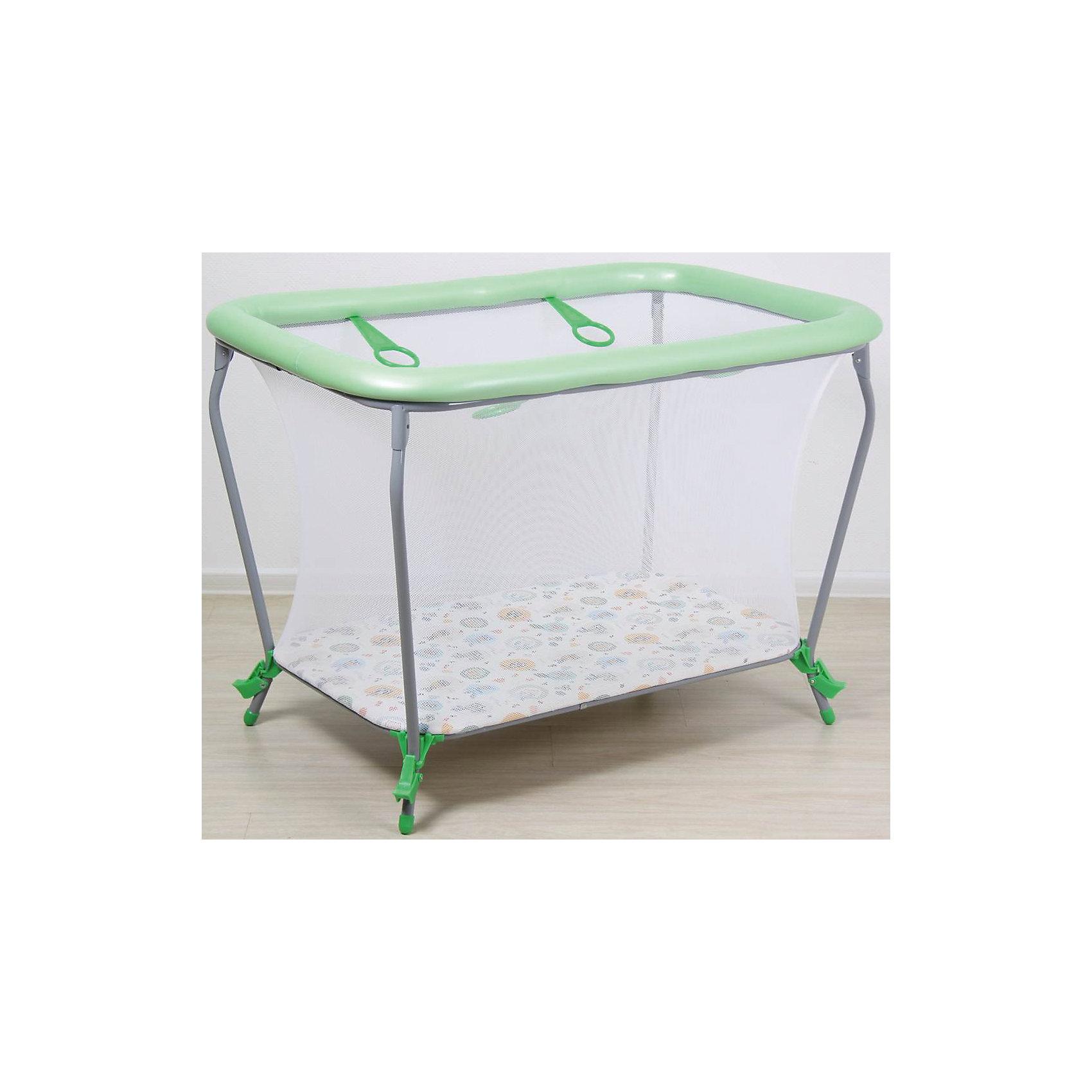 Манеж Классика Совы, Фея, зеленыйМанежи-кроватки<br>Характеристики товара:<br><br>• возраст от 6 месяцев;<br>• материал: пластик, текстиль;<br>• тип складывания: книжка<br>• имеет 4 ручки-кольца для ребёнка<br>• сетка с круговым обзором<br>• покрытие легко моется<br>• размер манежа 107х73х77 см;<br>• вес 10 кг;<br>• страна производитель: Россия.<br><br>Манеж Классика «Совы» Фея зеленый подойдет как для игр, так и для отдыха ребенка. Стенки выполнены из сетчатого материала, который обеспечивает циркуляцию воздуха, а также хороший обзор для присмотра за ребенком. <br><br>Бортики обтянуты материалом и не имеют острых углов, что позволит избежать случайных травм. На бортиках расположены 4 кольца, держась за которые, малыш учится вставать самостоятельно. <br><br>Манеж легко складывается и не занимает много места. Изготовлен из безопасных материалов с использованием нетоксичных красителей. Материал прост в уходе, легко протирается влажной губкой.<br><br>Манеж Классика «Совы» Фея зеленый можно приобрести в нашем интернет-магазине.<br><br>Ширина мм: 1070<br>Глубина мм: 730<br>Высота мм: 770<br>Вес г: 10000<br>Цвет: зеленый<br>Возраст от месяцев: 6<br>Возраст до месяцев: 36<br>Пол: Унисекс<br>Возраст: Детский<br>SKU: 5610448