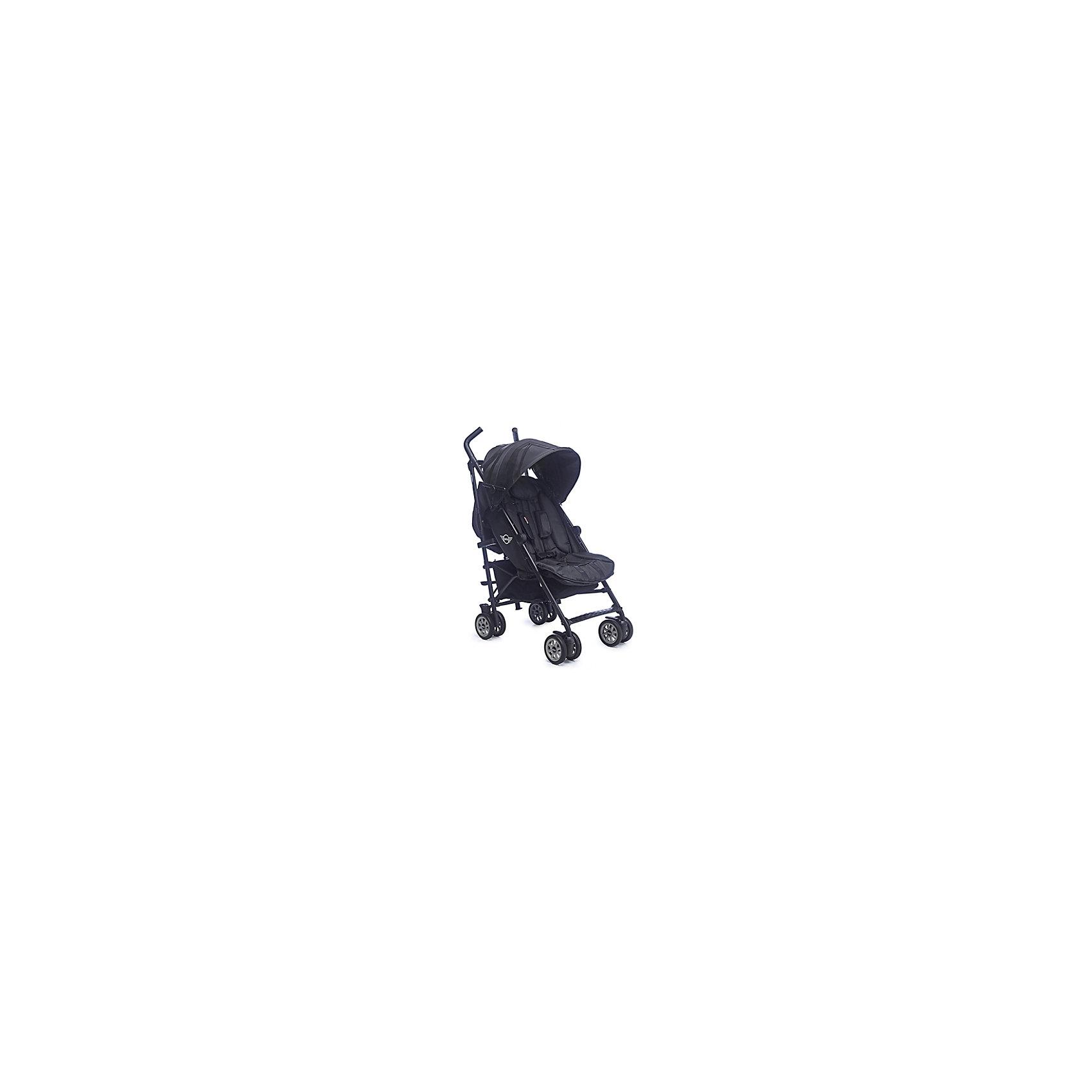 Коляска-трость Easywalker MINI Midnight Jack, blackКоляски-трости<br>Характеристики:<br><br>• спинка коляски регулируется в 4-х положениях;<br>• угол наклона спинки 170 градусов;<br>• подножка регулируется и удлиняет спальное место;<br>• 5-ти точечные ремни безопасности, регулируются по длине и высоте;<br>• можно установить защитный бампер с мягкой накладкой – бампер приобретается отдельно;<br>• капюшон глубокий, оснащен дополнительной секцией;<br>• кожаная отделка ручек коляски;<br>• корзина для покупок выдерживает нагрузку до 5 кг;<br>• сдвоенные колеса коляски;<br>• амортизация передних и задних колес;<br>• ножной тормоз;<br>• механизм складывания: трость;<br>• плечевой ремешок для переноски коляски в сложенном виде на плече.<br><br>Размеры:<br><br>• размер коляски: 76х48х103 см;<br>• размер коляски в сложенном виде: 100х48х24 см;<br>• ширина сиденья: 35 см;<br>• глубина сиденья: 20 см;<br>• высота спинки: 50 см;<br>• длина подножки: 15 см;<br>• диаметр колес: 12,7 см;<br>• вес коляски: 6,5 кг.<br><br>Легкая коляска-трость с регулируемой спинкой и подножкой сочетает в себе качества хорошей прогулки и коляски для путешествий. Глубокий капюшон с раскрывающейся секцией опускается достаточно низко, защищает ребенка даже с учетом разложенной спинки. Плечевой ремешок позволяет нести коляску на плече, освобождая при этом руки мамы для того, чтобы взять малыша и сумки. В комплекте прозрачный дождевик. <br><br>Коляску-трость MINI Midnight Jack, Easywalker, black можно купить в нашем интернет-магазине.<br><br>Ширина мм: 1020<br>Глубина мм: 230<br>Высота мм: 280<br>Вес г: 9140<br>Возраст от месяцев: 0<br>Возраст до месяцев: 48<br>Пол: Унисекс<br>Возраст: Детский<br>SKU: 5613101