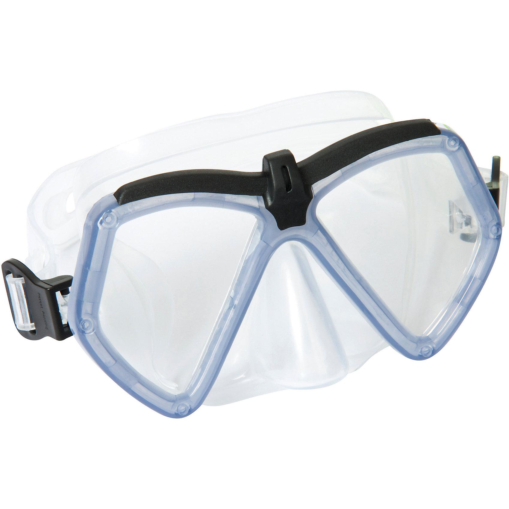 Детская маска для подводного плавания Море, Bestway, сераяОчки, маски, ласты, шапочки<br><br><br>Ширина мм: 216<br>Глубина мм: 175<br>Высота мм: 55<br>Вес г: 164<br>Возраст от месяцев: 72<br>Возраст до месяцев: 144<br>Пол: Унисекс<br>Возраст: Детский<br>SKU: 5613182