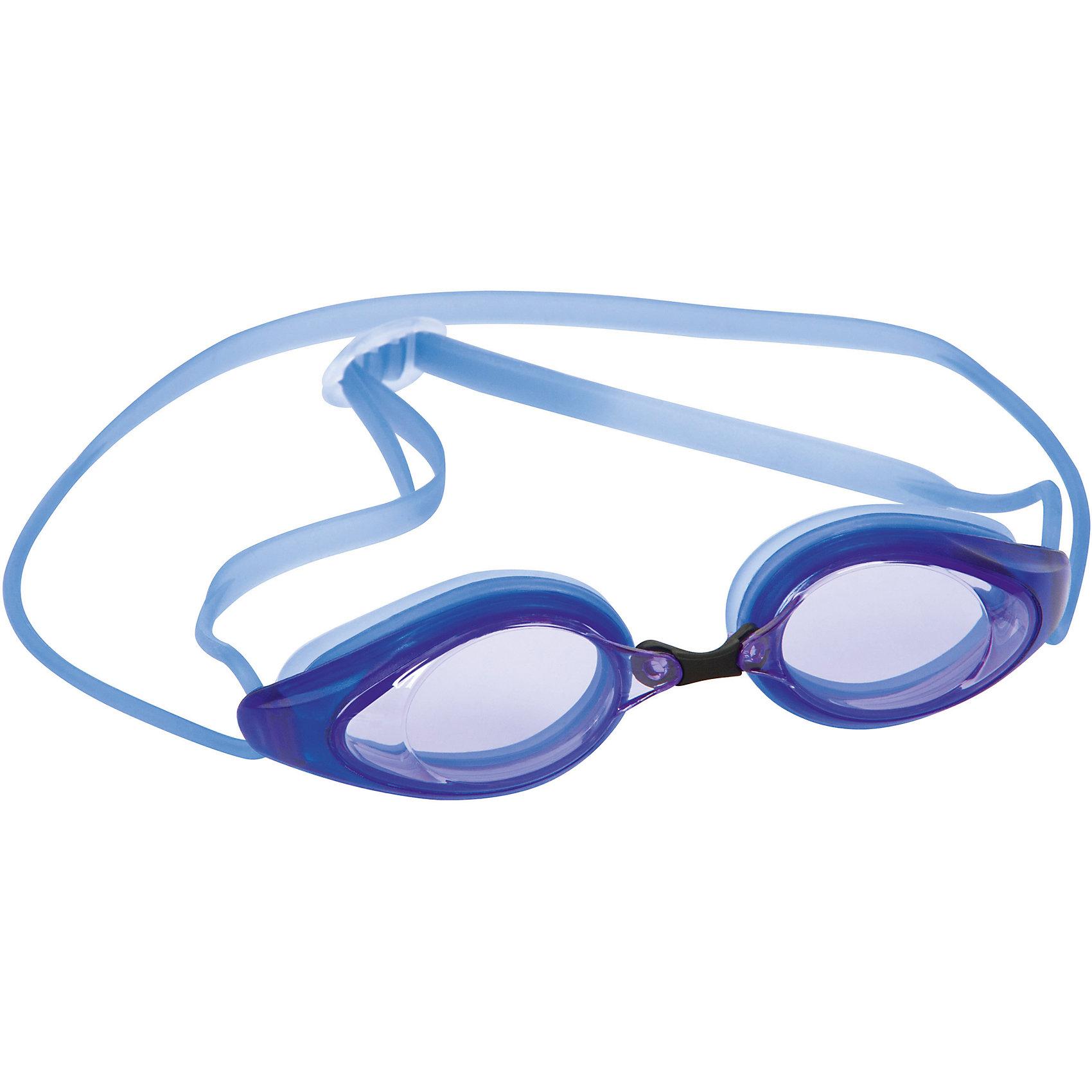 Очки для плавания Razorlite Race для взрослых, Bestway, синиеОчки, маски, ласты, шапочки<br>Характеристики товара:<br><br>• возраст от 14 лет;<br>• материал: силикон, поликарбонат;<br>• размер упаковки 18х6х5 см;<br>• вес упаковки 40 гр.;<br>• страна производитель: Китай.<br><br>Очки для плавания Bestway Razorlite Race синие подойдут как для активного отдыха на природе, так и для занятий плаванием в бассейне. Очки подойдут детям от 14 лет и взрослым. Оправа и переносица плотно прилегают к лицу, не пропуская воду внутрь. Линзы из поликарбоната обеспечивают хороший обзор во время плавания, а также защищают от вредных УФ-лучей. Регулируемый ремешок настраивается до необходимого размера.<br><br>Очки для плавания Bestway Razorlite Race синие можно приобрести в нашем интернет-магазине.<br><br>Ширина мм: 600<br>Глубина мм: 207<br>Высота мм: 540<br>Вес г: 105<br>Возраст от месяцев: 144<br>Возраст до месяцев: 2147483647<br>Пол: Унисекс<br>Возраст: Детский<br>SKU: 5613186