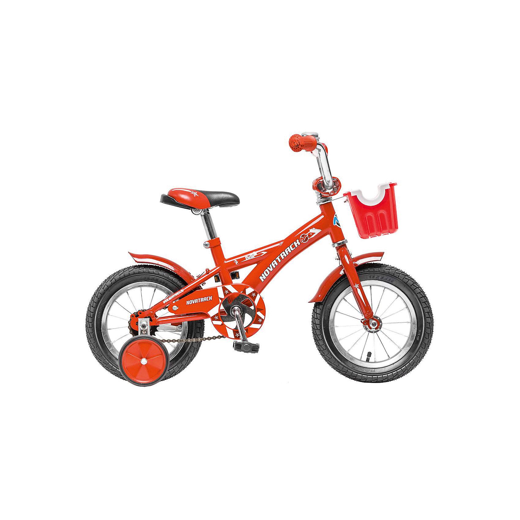 Велосипед Delfi, красно-бордовый, 12 дюймов, NovatrackВелосипеды детские<br>Велосипед Novatrack Delfi c 12-дюймовыми колесами – это надежный велосипед для ребят от 2 до 4 лет. Привлекательный дизайн, надежная сборка, легкость и отличная управляемость – это еще не все плюсы данной модели. Велосипед Delfi снабжен ограничителем поворота руля, который не позволит ребенку слишком сильно вывернуть переднее колесо велосипеда, и тем самым предотвратит падения. Цепь закрыта декоративной накладкой, которая защитит одежду и ноги ребенка от попадания в механизм. Данная модель специально разработана для легкого обучения езде на велосипеде. Низкая рама позволит ребенку быстро взбираться и слезать с велосипеда. Колеса закрыты крыльями, которые защитят ребенка от брызг, а на руле располагается вместительная корзинка для перевозки самых необходимых в дороге предметов.<br><br>Велосипед Delfi, красно-бордовый, 12 дюймов, Novatrack можно купить в нашем интернет-магазине.<br><br>Ширина мм: 810<br>Глубина мм: 185<br>Высота мм: 410<br>Вес г: 9500<br>Возраст от месяцев: 36<br>Возраст до месяцев: 60<br>Пол: Унисекс<br>Возраст: Детский<br>SKU: 5613199
