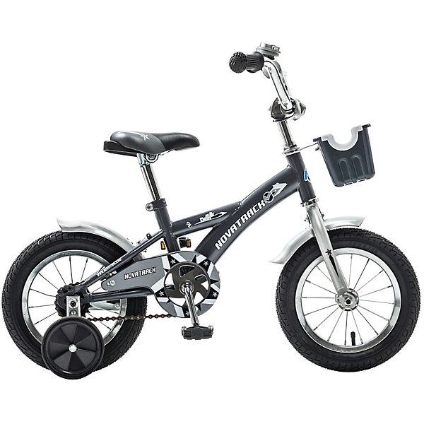 Велосипед Delfi, серо-серебяный, 12 дюймов, NovatrackВелосипеды детские<br>Характеристики товара:<br><br>• цвет: серый<br>• возраст: от 2 лет<br>• стальная рама<br>• мягкое регулируемое по высоте седло<br>• руль регулируется по высоте<br>• ограничитель поворота руля<br>• диаметр колес: 12 дюймов<br>• ножной задний тормоз<br>• два маленьких съемных колеса<br>• защита цепи не позволит одежде попасть в механизм<br>• крылья защитят от грязи и брызг<br>• мягкие накладки на руле<br>• корзина<br>• вес: 8,1 кг<br><br>Велосипед Novatrack Delfi c 12-дюймовыми колесами – это надежный велосипед для ребят от 2 до 4 лет. <br><br>Велосипед Delfi снабжен ограничителем поворота руля, который не позволит ребенку слишком сильно вывернуть переднее колесо велосипеда, и тем самым предотвратит падения. <br><br>Данная модель специально разработана для легкого обучения езде на велосипеде. Низкая рама позволит ребенку быстро взбираться и слезать с велосипеда. <br><br>Велосипед Delfi, серо-серебряный, 12 дюймов, Novatrack можно купить в нашем интернет-магазине.<br>Ширина мм: 810; Глубина мм: 185; Высота мм: 410; Вес г: 9500; Возраст от месяцев: 36; Возраст до месяцев: 60; Пол: Унисекс; Возраст: Детский; SKU: 5613200;