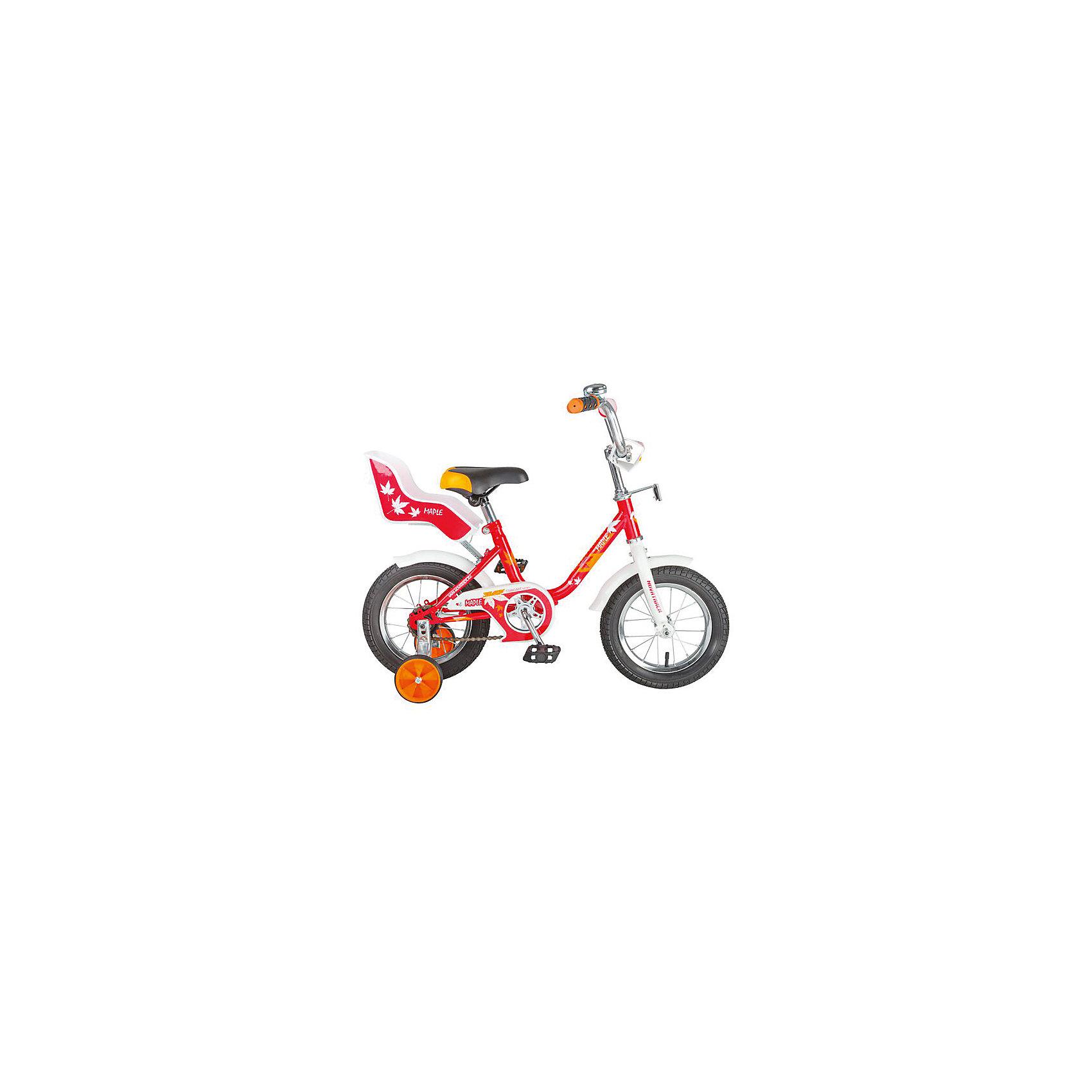 Велосипед UL, красный, 12 дюймов, NovatrackВелосипеды детские<br>Novatrack UL 12'' – это надежный велосипед для девочек 2-4 лет, на котором очень легко познавать азы катания на велосипеде, и который обязательно станет предметом гордости маленькой леди. Регулируемые сидение и руль можно адаптировать под быстро растущий детский организм. Маленькие дополнительные колеса снимаются по мере необходимости. Главная особенность этого велосипеда – это сидение для куклы, ведь как можно не взять с собой подругу на велопрогулку? Велосипед оснащен ножным тормозом, которым, как показывает практика, ребенок очень быстро учится пользоваться, защитой цепи, которая убережет нижнюю часть одежды от попадания в механизм. Это еще не все технические решения, обеспечивающие безопасность велосипеда. Его оборудовали ограничителем поворота, который не позволит вывернуть руль на слишком большой градус, тем самым обезопасит от опрокидывания.<br><br>Велосипед UL, красный, 12 дюймов, Novatrack можно купить в нашем интернет-магазине.<br><br>Ширина мм: 810<br>Глубина мм: 185<br>Высота мм: 410<br>Вес г: 9500<br>Возраст от месяцев: 36<br>Возраст до месяцев: 60<br>Пол: Унисекс<br>Возраст: Детский<br>SKU: 5613217
