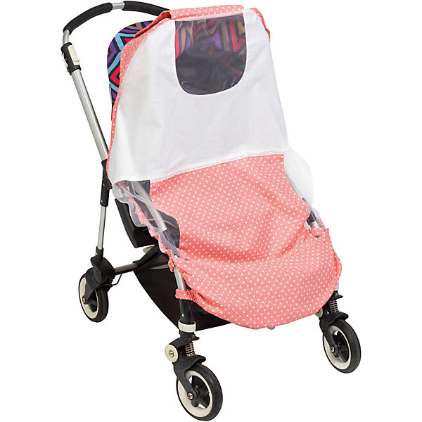 Тент солнцезащитный  для коляски Mammie, горох розовыйАксессуары для колясок<br>Тент солнцезащитный  для коляски Mammie, горох розовый.<br><br>Характеристики:<br><br>• Для детей с рождения<br>• Размер: 95х105 см.<br>• Цвет: розовый в белый горох<br>• Материал: 100% хлопок<br>• Уход: машинная стирка при 30 °С<br>• Размер упаковки: 20х30х5 см.<br>• Вес: 100 гр.<br><br>Солнцезащитный тент от бренда Mammie - незаменимый аксессуар для коляски во время прогулок в жаркие дни. Изготовленный из натурального хлопка тент прекрасно пропускает воздух, но при этом надежно защищает малыша от прямых солнечных лучей, ветра и различных насекомых. Универсальное крепление делает изделие применимым практически ко всем моделям прогулочных колясок-тростей. Боковины тента выполнены из сетчатого материала, что обеспечивает хорошую вентиляцию, а специальное окошко с сеткой позволяет полностью видеть малыша, не беспокоя его во время сна. Тент легко складывается, в сложенном виде не занимает много места. Солнцезащитный тент Mammie – это комфортная прогулка крохи даже в самые знойные летние дни! Тент можно дополнить матрасиком для коляски в тон тента.<br><br>Тент солнцезащитный  для коляски Mammie, горох розовый можно купить в нашем интернет-магазине.<br><br>Ширина мм: 200<br>Глубина мм: 300<br>Высота мм: 50<br>Вес г: 100<br>Цвет: розовый<br>Возраст от месяцев: 0<br>Возраст до месяцев: 60<br>Пол: Унисекс<br>Возраст: Детский<br>SKU: 5613234