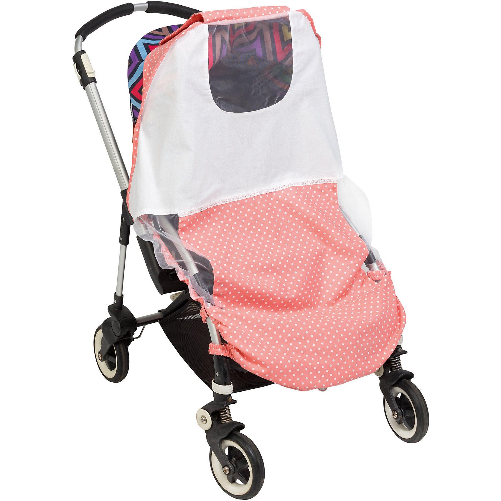 Тент солнцезащитный  для коляски Mammie, горох розовыйАксессуары для колясок<br>Тент солнцезащитный  для коляски Mammie, горох розовый.<br><br>Характеристики:<br><br>• Для детей с рождения<br>• Размер: 95х105 см.<br>• Цвет: розовый в белый горох<br>• Материал: 100% хлопок<br>• Уход: машинная стирка при 30 °С<br>• Размер упаковки: 20х30х5 см.<br>• Вес: 100 гр.<br><br>Солнцезащитный тент от бренда Mammie - незаменимый аксессуар для коляски во время прогулок в жаркие дни. Изготовленный из натурального хлопка тент прекрасно пропускает воздух, но при этом надежно защищает малыша от прямых солнечных лучей, ветра и различных насекомых. Универсальное крепление делает изделие применимым практически ко всем моделям прогулочных колясок-тростей. Боковины тента выполнены из сетчатого материала, что обеспечивает хорошую вентиляцию, а специальное окошко с сеткой позволяет полностью видеть малыша, не беспокоя его во время сна. Тент легко складывается, в сложенном виде не занимает много места. Солнцезащитный тент Mammie – это комфортная прогулка крохи даже в самые знойные летние дни! Тент можно дополнить матрасиком для коляски в тон тента.<br><br>Тент солнцезащитный  для коляски Mammie, горох розовый можно купить в нашем интернет-магазине.<br><br>Ширина мм: 200<br>Глубина мм: 300<br>Высота мм: 50<br>Вес г: 100<br>Возраст от месяцев: 0<br>Возраст до месяцев: 60<br>Пол: Унисекс<br>Возраст: Детский<br>SKU: 5613234