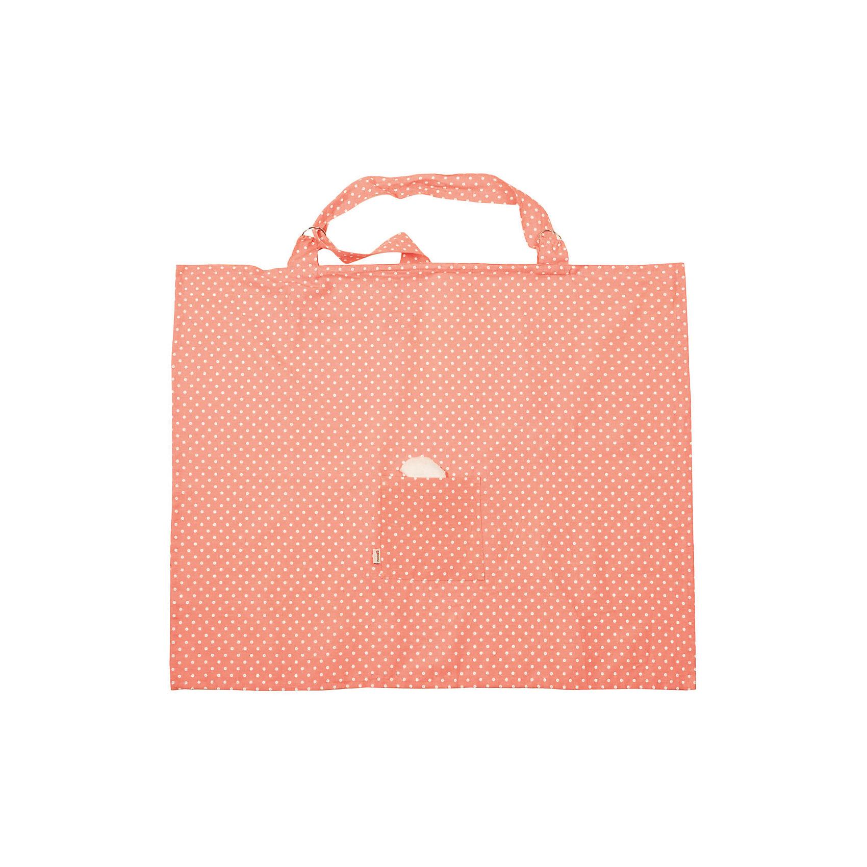 Накидка для кормления, Mammie, горох розовыйНагрудники и салфетки<br>Нагрудник, Mammie, горох розовый.<br><br>Характеристики:<br><br>• Для детей с рождения<br>• Размер изделия: 85х76 см.<br>• Цвет: розовый в белый горох<br>• Материал: 100% хлопок<br>• Уход: машинная стирка при 30 °С<br>• Размер упаковки: 5х5х2,5 см.<br>• Вес: 100 гр.<br><br>Нагрудник для кормления от бренда Mammie - незаменимый аксессуар в арсенале кормящей мамы! Он позволит без труда покормить ребенка грудью, даже если вы находитесь в местах с большим скоплением людей: в парке, кафе или гостях. Специальный крой изделия обеспечивает ребенку свободный доступ воздуха, но при этом скрывает малыша от посторонних глаз. Лямку можно отрегулировать по длине так, чтобы и маме, и малышу было максимально комфортно. Уплотненная горловина создает окошко для наблюдения за малышом. Предусмотрен мягкий махровый уголок, которым можно вытереть личико малыша после кормления. Кроме того, на нагруднике имеется небольшой кармашек, чтобы важные мелочи, такие как соска или салфетки, были под рукой. Нагрудник легко стирается, в сложенном виде не занимает много места.<br><br>Нагрудник, Mammie, горох розовый можно купить в нашем интернет-магазине.<br><br>Ширина мм: 50<br>Глубина мм: 50<br>Высота мм: 25<br>Вес г: 100<br>Возраст от месяцев: 0<br>Возраст до месяцев: 36<br>Пол: Унисекс<br>Возраст: Детский<br>SKU: 5613252