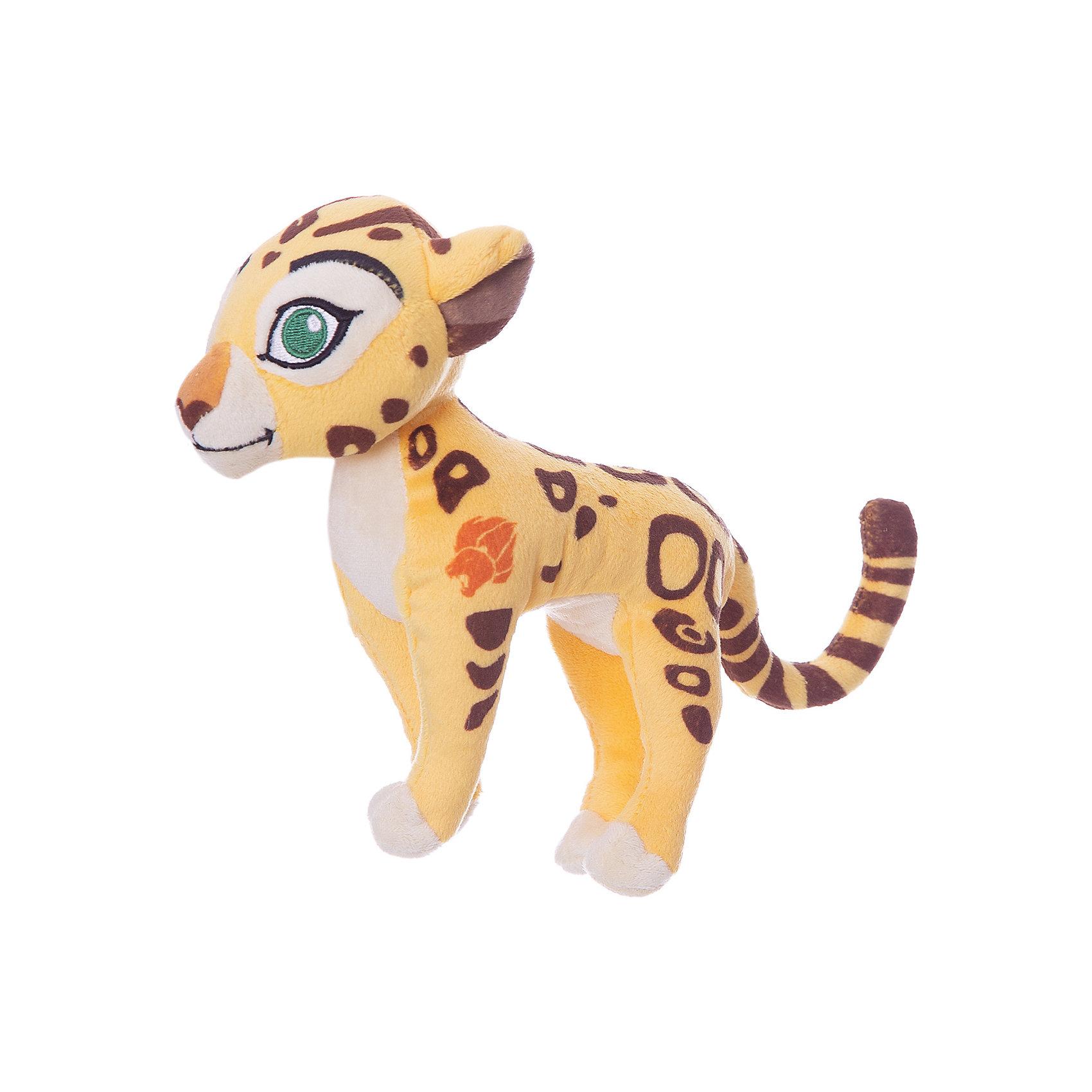 Мягкая игрушка Фули, 17 см, NicotoyЛюбимые герои<br>Характеристики товара:<br><br>• возраст от 3 лет;<br>• материал: плюш;<br>• размер игрушки 17 см;<br>• размер упаковки 20х8х8 см;<br>• вес упаковки 80 гр.;<br>• страна производитель: Китай.<br><br>Мягкая игрушка «Фули» Nicotoy — персонаж известного мультсериала «Хранитель Лев» гепард Фули. Фули — самый быстрый обитатель саванны. Игрушку можно брать с собой на прогулку, в детский садик, в гости к друзьям. Игрушка выполнена из качественного материала, безопасного для детей.<br><br>Мягкую игрушку «Фули» Nicotoy можно приобрести в нашем интернет-магазине.<br><br>Ширина мм: 200<br>Глубина мм: 80<br>Высота мм: 80<br>Вес г: 80<br>Возраст от месяцев: 36<br>Возраст до месяцев: 96<br>Пол: Женский<br>Возраст: Детский<br>SKU: 5613501