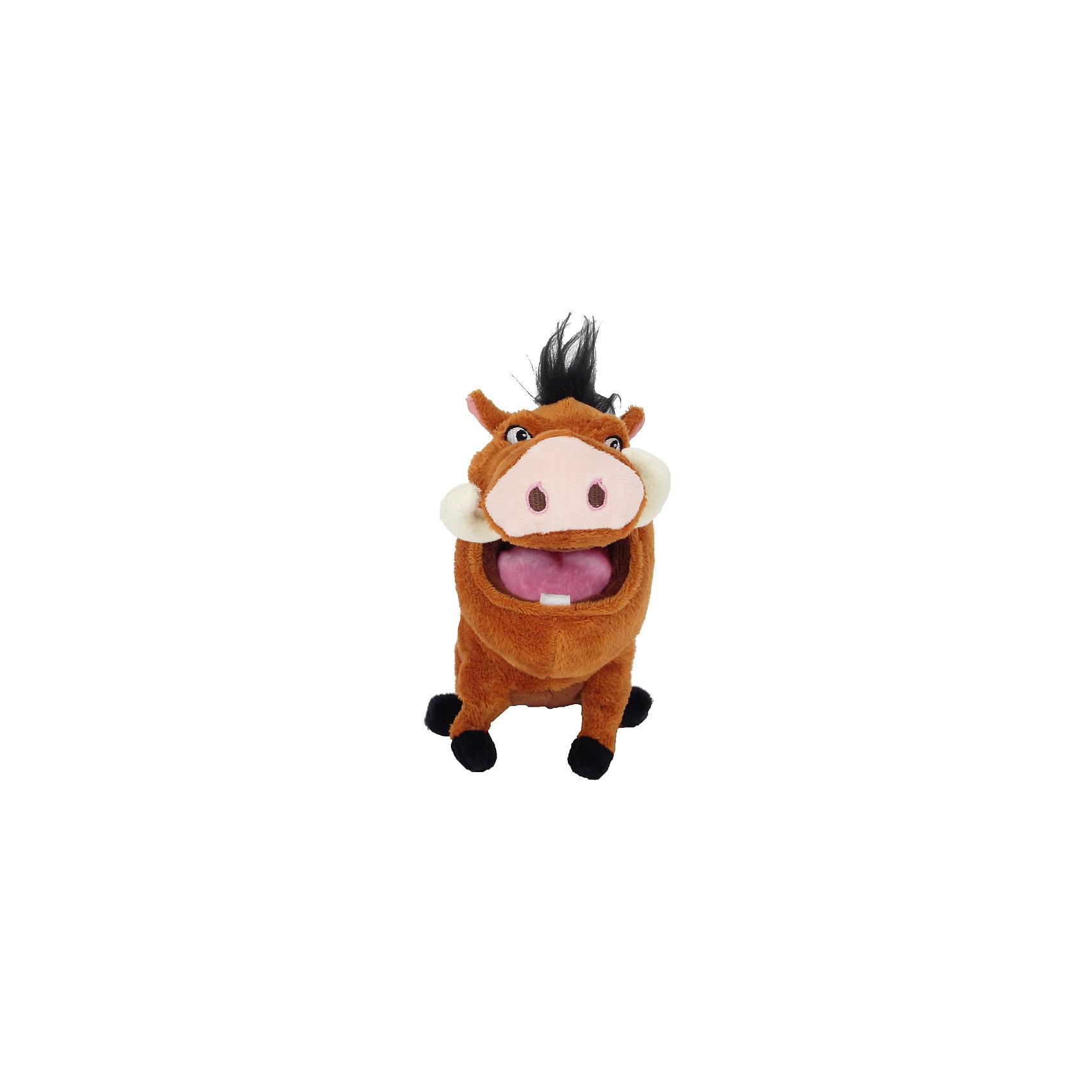 Мягкая игрушка Пумба, 25 см, NicotoyЛюбимые герои<br>Характеристики товара:<br><br>• возраст от 3 лет;<br>• материал: плюш;<br>• размер игрушки 25 см;<br>• размер упаковки 30х15х10 см;<br>• вес упаковки 160 гр.;<br>• страна производитель: Китай.<br><br>Мягкая игрушка «Пумба» 25 см Nicotoy — персонаж известного мультфильма «Король Лев» отзывчивый кабан Пумба, готовый всегда прийти на помощь. Игрушку можно брать с собой на прогулку, в детский садик, в гости к друзьям. Игрушка выполнена из качественного материала, безопасного для детей.<br><br>Мягкую игрушку «Пумба» 25 см Nicotoy можно приобрести в нашем интернет-магазине.<br><br>Ширина мм: 300<br>Глубина мм: 150<br>Высота мм: 100<br>Вес г: 160<br>Возраст от месяцев: 36<br>Возраст до месяцев: 96<br>Пол: Женский<br>Возраст: Детский<br>SKU: 5613502