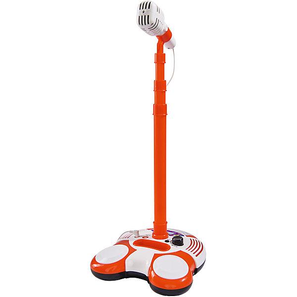 Микрофон на стойке, совместимый с mp3, 102 см, Simba