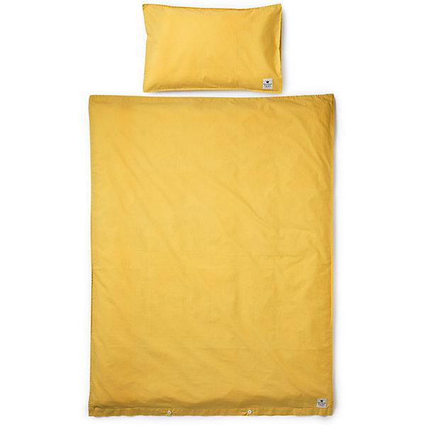 Комплект в кроватку 2 предмета Elodie Details, Sweet HoneyПостельное белье в кроватку новорождённого<br>Постельное белье Sweet Honey, 2пред., Elodie Details (Элоди Дитейлс)<br><br>Характеристики:<br><br>• впитывает лишнюю влагу<br>• обеспечивает правильную циркуляцию воздуха<br>• в комплекте: наволочка, пододеяльник<br>• материал: перкаль<br>• состав: 100% хлопок<br>• размер пододеяльника: 100х130 см<br>• размер наволочки: 35х55 см<br>• размер упаковки: 39х2х27 см<br>• вес: 558 грамм<br><br>Постельное белье Pretty Petrol подарит комфорт и приятные сны. Комплект выполнен из натурального материала - перкаль. Он впитывает лишнюю влагу и хорошо пропускает воздух, позволяя коже дышать. В комплект входят наволочка и пододеяльник, выполненные в приятном цвете. Такое белье станет настоящим украшением детской комнаты.<br><br>Постельное белье Sweet Honey, 2пред., Elodie Details (Элоди Дитейлс) вы можете купить в нашем интернет-магазине.<br><br>Ширина мм: 270<br>Глубина мм: 20<br>Высота мм: 390<br>Вес г: 558<br>Возраст от месяцев: 0<br>Возраст до месяцев: 24<br>Пол: Унисекс<br>Возраст: Детский<br>SKU: 5613544