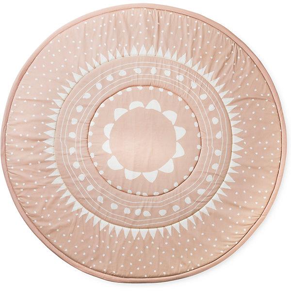Игровой коврик Powder Pink, Elodie DetailsРазвивающие коврики<br>Игровой коврик Powder Pink, Elodie Details (Элоди Дитейлс)<br><br>Характеристики:<br><br>• диаметр коврика: 120 см<br>• материал: хлопок<br>• наполнитель: синтепон<br>• размер упаковки: 60х3х39 см<br>• вес: 850 грамм<br><br>Коврик Powder Pink от известного бренда Elodie Details станет отличным украшением детской комнаты. Малыш сможет играть и резвиться, а красивый коврик с наполнителем из синтепона предотвратит травмирование ребенка в случае падения. Внешняя сторона коврика изготовлена из натурального хлопка, который не вызовет аллергии на чувствительной коже младенцев. В случае необходимости вы сможете использовать коврик во время отдыха на природе.<br><br>Игровой коврик Powder Pink, Elodie Details (Элоди Дитейлс) можно купить в нашем интернет-магазине.<br>Ширина мм: 390; Глубина мм: 30; Высота мм: 600; Вес г: 850; Возраст от месяцев: 0; Возраст до месяцев: 36; Пол: Женский; Возраст: Детский; SKU: 5613550;