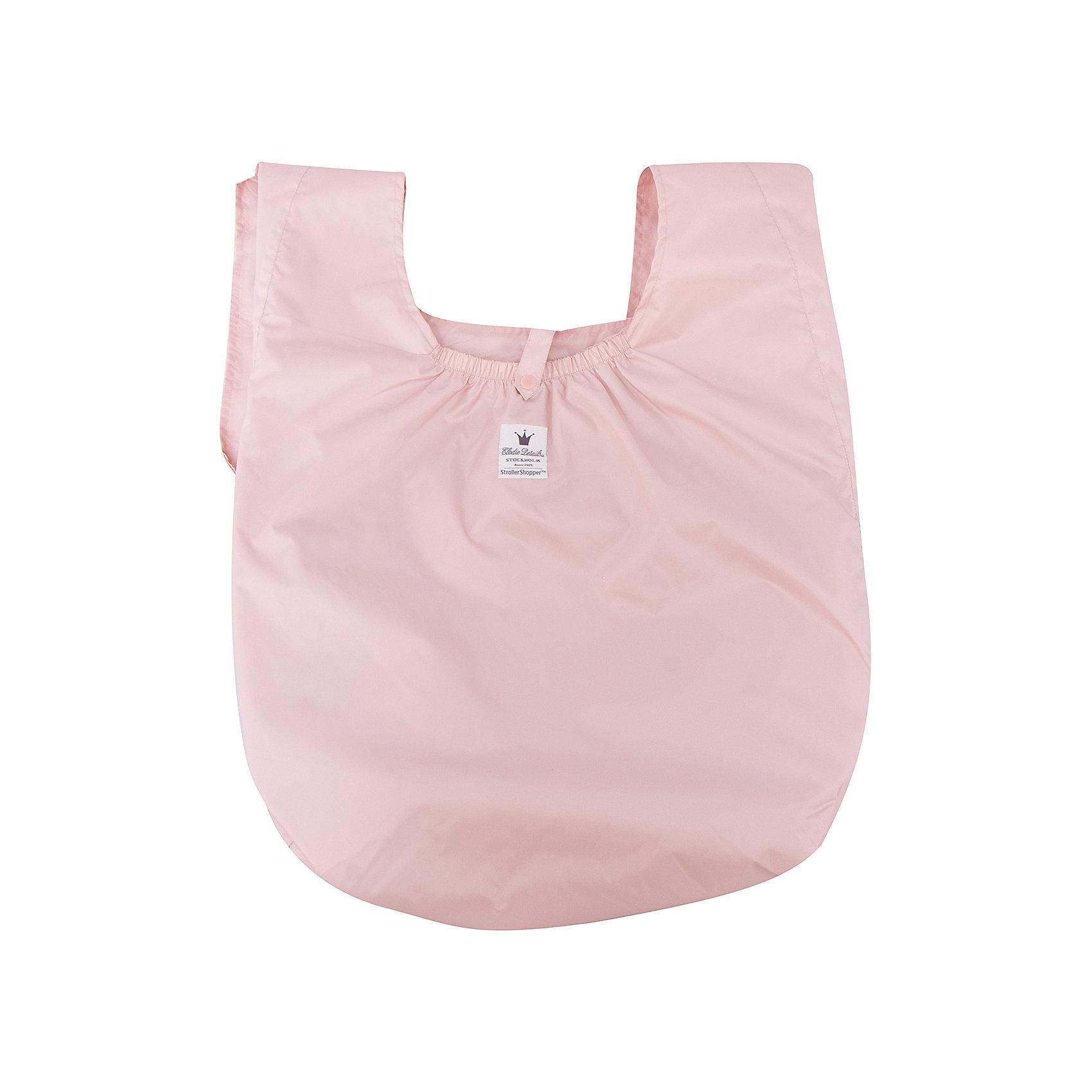 Сумка Powder Pink Stroller Shopper, Elodie DetailsСумки для колясок<br>Сумка Powder Pink Stroller Shopper, Elodie Details (Элоди Дитейлс)<br><br>Характеристики:<br><br>• широкий плечевой ремень<br>• вместительное отделение<br>• карман для подгузников<br>• застежка: кнопки<br>• материал: полиэстер<br>• размер упаковки: 29х29х1 см<br>• вес: 150 грамм<br><br>Powder Pink Stroller Shopper - качественная и практичная сумка от известного бренда Elodie Details. Она имеет одно вместительное отделение и специальный карман для подгузников, салфеток и пеленок. Сумка оснащена широким длинным ремнем, благодаря чему, вы сможете комфортно расположить её на плече или на ручке коляски. Сумка отлично подойдет любительницам шоппинга. С ней все необходимые предметы всегда будут под рукой, и вы сможете совершать покупки вместе с малышом.<br><br>Сумка Powder Pink Stroller Shopper, Elodie Details (Элоди Дитейлс) вы можете купить в нашем интернет-магазине.<br><br>Ширина мм: 10<br>Глубина мм: 290<br>Высота мм: 290<br>Вес г: 150<br>Возраст от месяцев: 0<br>Возраст до месяцев: 48<br>Пол: Женский<br>Возраст: Детский<br>SKU: 5613564