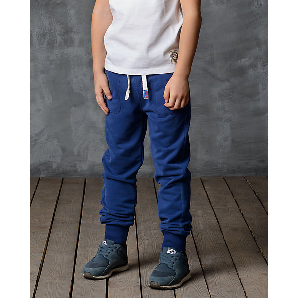 Брюки для мальчика Modniy JukБрюки<br>Характеристики товара:<br><br>• цвет: синий<br>• состав: 70% хлопок, 30% полиэстер<br>• спортивный силуэт<br>• карманы<br>• пояс - мягкая резинка<br>• манжеты<br>• логотип<br>• шнурок в поясе<br><br>• страна бренда: Российская Федерация<br>• страна производства: Российская Федерация<br><br>Модели одежды из новой коллекции от бренда Модный жук - это стильные и удобные вещи, созданные специально для детей. Они отличаются продуманным дизайном, качественными материалами и комфортной посадкой. Дети носят их с удовольствием! Стильные брюки спортивного силуэта - хит сезона, отличный вариант базовой вещи для разной погоды. Они отлично сочетаются с майками, футболками, куртками. Хорошо сидят по фигуре.<br>Одежда и аксессуары от российского бренда Модный жук - это способ пополнить гардероб ребенка модными изделиями по доступной цене. Для их производства используются только безопасные, проверенные материалы и фурнитура. Новая коллекция поддерживает хорошие традиции бренда! <br><br>Брюки для мальчика от популярного бренда Модный жук можно купить в нашем интернет-магазине.<br>Ширина мм: 215; Глубина мм: 88; Высота мм: 191; Вес г: 336; Цвет: синий; Возраст от месяцев: 108; Возраст до месяцев: 120; Пол: Мужской; Возраст: Детский; Размер: 134/140,98/104,140/146,128/134,122/128,116/122,110/116,104/110,92/98; SKU: 5613616;