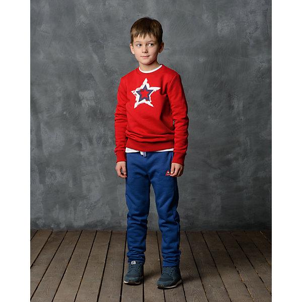 Брюки для мальчика Modniy JukБрюки<br>Характеристики товара:<br><br>• цвет: синий<br>• состав: 70% хлопок, 30% полиэстер<br>• спортивный силуэт<br>• карманы<br>• пояс - мягкая резинка<br>• манжеты<br>• логотип<br>• шнурок в поясе<br><br>• страна бренда: Российская Федерация<br>• страна производства: Российская Федерация<br><br>Модели одежды из новой коллекции от бренда Модный жук - это стильные и удобные вещи, созданные специально для детей. Они отличаются продуманным дизайном, качественными материалами и комфортной посадкой. Дети носят их с удовольствием! Стильные брюки спортивного силуэта - хит сезона, отличный вариант базовой вещи для разной погоды. Они отлично сочетаются с майками, футболками, куртками. Хорошо сидят по фигуре.<br>Одежда и аксессуары от российского бренда Модный жук - это способ пополнить гардероб ребенка модными изделиями по доступной цене. Для их производства используются только безопасные, проверенные материалы и фурнитура. Новая коллекция поддерживает хорошие традиции бренда! <br><br>Брюки для мальчика от популярного бренда Модный жук можно купить в нашем интернет-магазине.<br><br>Ширина мм: 215<br>Глубина мм: 88<br>Высота мм: 191<br>Вес г: 336<br>Цвет: синий<br>Возраст от месяцев: 60<br>Возраст до месяцев: 72<br>Пол: Мужской<br>Возраст: Детский<br>Размер: 110/116,164/170,158/164,140/146,134/140,128/134,122/128,116/122<br>SKU: 5613649