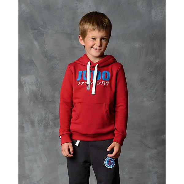 Толстовка для мальчика Modniy JukТолстовки<br>Характеристики товара:<br><br>• цвет: красный<br>• состав: 70% хлопок, 30% полиэстер<br>• длинные рукава<br>• мягкий материал<br>• карманы<br>• капюшон<br>• принт<br>• манжеты<br>• логотип<br><br>• страна бренда: Российская Федерация<br>• страна производства: Российская Федерация<br><br>Модели одежды из новой коллекции от бренда Модный жук - это стильные и удобные вещи, созданные специально для детей. Они отличаются продуманным дизайном, качественными материалами и комфортной посадкой. Дети носят их с удовольствием! Толстовка с капюшоном - хит сезона, отличный вариант базовой вещи для разной погоды. Она отлично сочетается с джинсами и брюками, хорошо сидит по фигуре.<br>Одежда и аксессуары от российского бренда Модный жук - это способ пополнить гардероб ребенка модными изделиями по доступной цене. Для их производства используются только безопасные, проверенные материалы и фурнитура. Новая коллекция поддерживает хорошие традиции бренда! <br><br>Толстовку для мальчика от популярного бренда Модный жук можно купить в нашем интернет-магазине.<br><br>Ширина мм: 190<br>Глубина мм: 74<br>Высота мм: 229<br>Вес г: 236<br>Цвет: красный<br>Возраст от месяцев: 18<br>Возраст до месяцев: 24<br>Пол: Мужской<br>Возраст: Детский<br>Размер: 92,140,104,98<br>SKU: 5613861