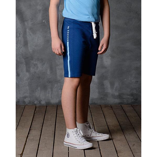 Шорты для мальчика Modniy JukШорты, бриджи, капри<br>Характеристики товара:<br><br>• цвет: синий<br>• состав: 50% хлопок, 50% полиэстер<br>• спортивный силуэт<br>• дышащий материал<br>• пояс - мягкая резинка<br>• логотип<br>• шнурок в поясе<br><br>• страна бренда: Российская Федерация<br>• страна производства: Российская Федерация<br><br>Модели одежды из новой коллекции от бренда Модный жук - это стильные и удобные вещи, созданные специально для детей. Они отличаются продуманным дизайном, качественными материалами и комфортной посадкой. Дети носят их с удовольствием! Стильные шорты спортивного силуэта - хит сезона, отличный вариант базовой вещи для теплой погоды. Они отлично сочетаются с майками, футболками, куртками. Хорошо сидят по фигуре.<br>Одежда и аксессуары от российского бренда Модный жук - это способ пополнить гардероб ребенка модными изделиями по доступной цене. Для их производства используются только безопасные, проверенные материалы и фурнитура. Новая коллекция поддерживает хорошие традиции бренда! <br><br>Шорты для мальчика от популярного бренда Модный жук можно купить в нашем интернет-магазине.<br>Ширина мм: 191; Глубина мм: 10; Высота мм: 175; Вес г: 273; Цвет: синий; Возраст от месяцев: 72; Возраст до месяцев: 84; Пол: Мужской; Возраст: Детский; Размер: 104,122,98,152; SKU: 5614061;