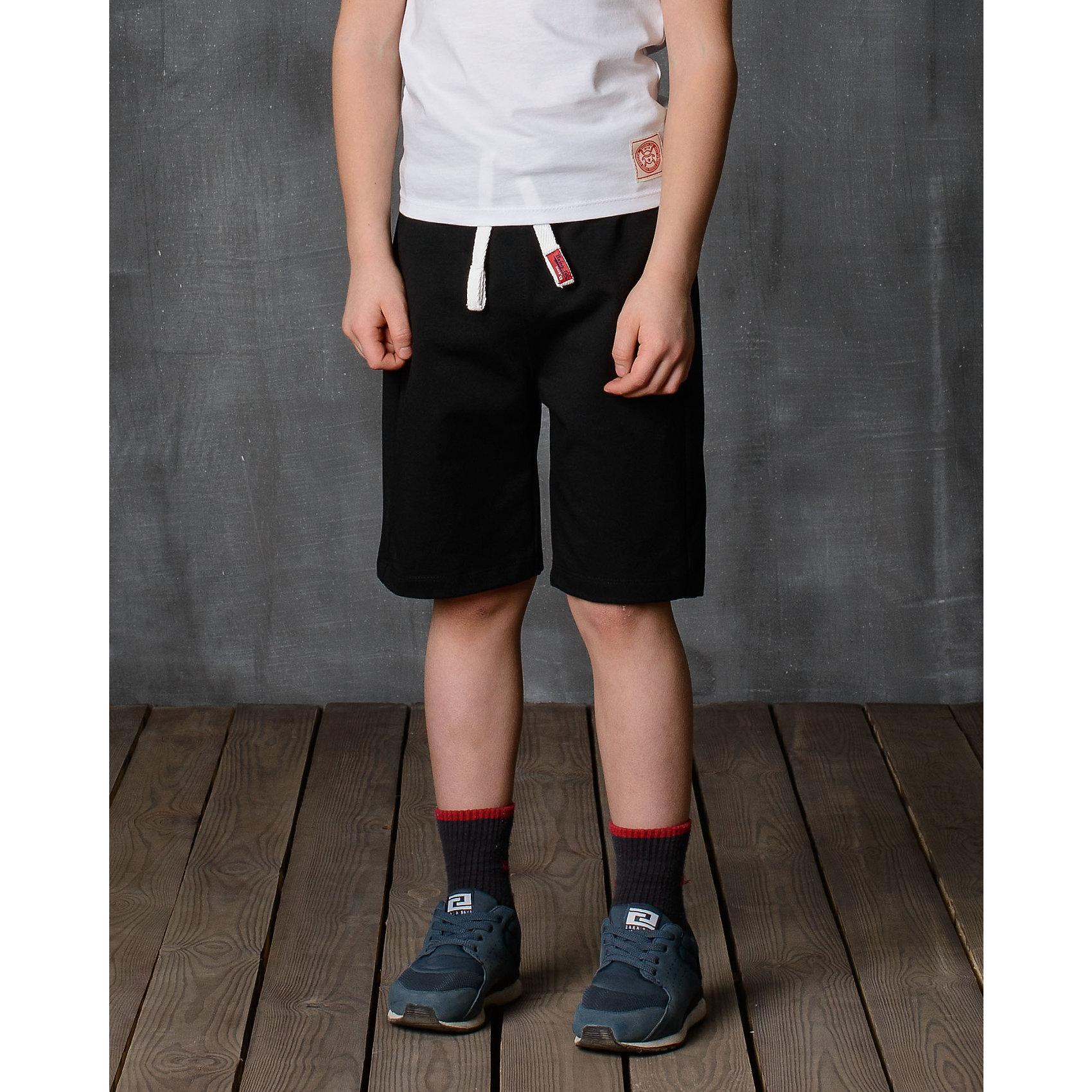 Шорты для мальчика Modniy JukШорты, бриджи, капри<br>Удобные спортивные шорты из тонкого высококачественного трикотажа с добавлением эластана. Задний накладной карман. Комфортный мягкий пояс и манжеты из трикотажной резинки. Яркая нашивка в стиле Modniy Juk. Полуприлегающий силуэт.<br>Состав:<br>70% хлопок, 30% полиэстер<br><br>Ширина мм: 191<br>Глубина мм: 10<br>Высота мм: 175<br>Вес г: 273<br>Цвет: черный<br>Возраст от месяцев: 48<br>Возраст до месяцев: 60<br>Пол: Мужской<br>Возраст: Детский<br>Размер: 104/110,110/116,116/122,122/128,128/134,134/140,140/146,146/152,152/158,158/164<br>SKU: 5614101