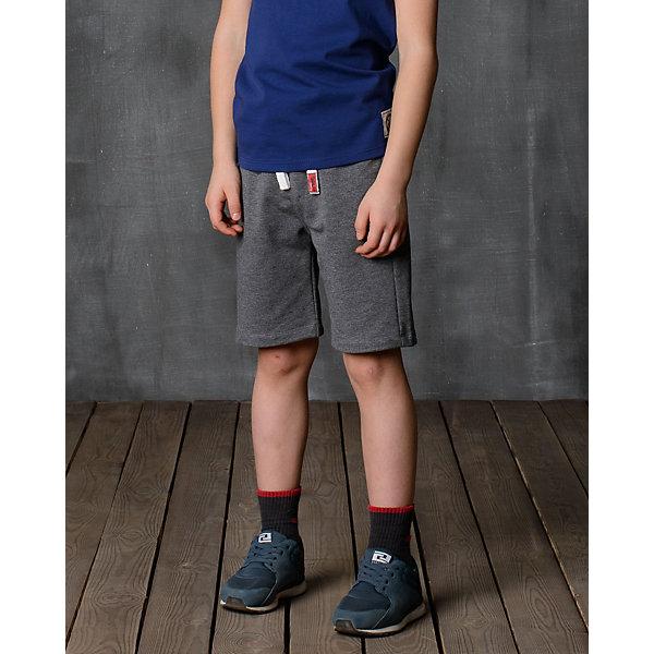 Шорты для мальчика Modniy JukШорты, бриджи, капри<br>Характеристики товара:<br><br>• цвет: серый<br>• состав: 70% хлопок, 30% полиэстер<br>• спортивный силуэт<br>• дышащий материал<br>• пояс - мягкая резинка<br>• логотип<br>• шнурок в поясе<br><br>• страна бренда: Российская Федерация<br>• страна производства: Российская Федерация<br><br>Модели одежды из новой коллекции от бренда Модный жук - это стильные и удобные вещи, созданные специально для детей. Они отличаются продуманным дизайном, качественными материалами и комфортной посадкой. Дети носят их с удовольствием! Стильные шорты спортивного силуэта - хит сезона, отличный вариант базовой вещи для теплой погоды. Они отлично сочетаются с майками, футболками, куртками. Хорошо сидят по фигуре.<br>Одежда и аксессуары от российского бренда Модный жук - это способ пополнить гардероб ребенка модными изделиями по доступной цене. Для их производства используются только безопасные, проверенные материалы и фурнитура. Новая коллекция поддерживает хорошие традиции бренда! <br><br>Шорты для мальчика от популярного бренда Модный жук можно купить в нашем интернет-магазине.<br><br>Ширина мм: 191<br>Глубина мм: 10<br>Высота мм: 175<br>Вес г: 273<br>Цвет: серый<br>Возраст от месяцев: 132<br>Возраст до месяцев: 144<br>Пол: Мужской<br>Возраст: Детский<br>Размер: 146/152,98/104,104/110,110/116,116/122,122/128,134/140,140/146<br>SKU: 5614112