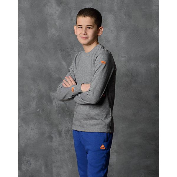 Футболка с длинным рукавом для мальчика Modniy JukФутболки с длинным рукавом<br>Характеристики товара:<br><br>• цвет: серый<br>• состав: 100% хлопок<br>• длинные рукава<br>• мягкий материал<br>• круглый вырез горловины<br>• манжеты<br>• логотип<br><br>• страна бренда: Российская Федерация<br>• страна производства: Российская Федерация<br><br>Модели одежды из новой коллекции от бренда Модный жук - это стильные и удобные вещи, созданные специально для детей. Они отличаются продуманным дизайном, качественными материалами и комфортной посадкой. Дети носят их с удовольствием! Футболка с длинным рукавом - хит сезона, отличный вариант базовой вещи для разной погоды. Она отлично сочетается с джинсами и брюками, хорошо сидит по фигуре.<br>Одежда и аксессуары от российского бренда Модный жук - это способ пополнить гардероб ребенка модными изделиями по доступной цене. Для их производства используются только безопасные, проверенные материалы и фурнитура. Новая коллекция поддерживает хорошие традиции бренда! <br><br>Футболку с длинным рукавом для мальчика от популярного бренда Модный жук можно купить в нашем интернет-магазине.<br>Ширина мм: 230; Глубина мм: 40; Высота мм: 220; Вес г: 250; Цвет: серый; Возраст от месяцев: 36; Возраст до месяцев: 48; Пол: Мужской; Возраст: Детский; Размер: 98/104,152/158,146/152,140/146,134/140,128/134,122/128,116/122,110/116,104/110; SKU: 5614239;